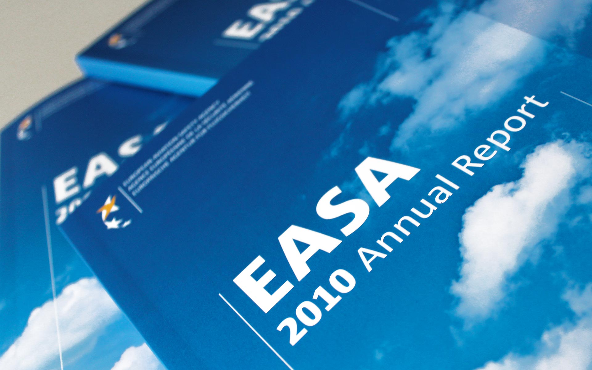 EASA Corporate Publishing, Annual Report, Titel