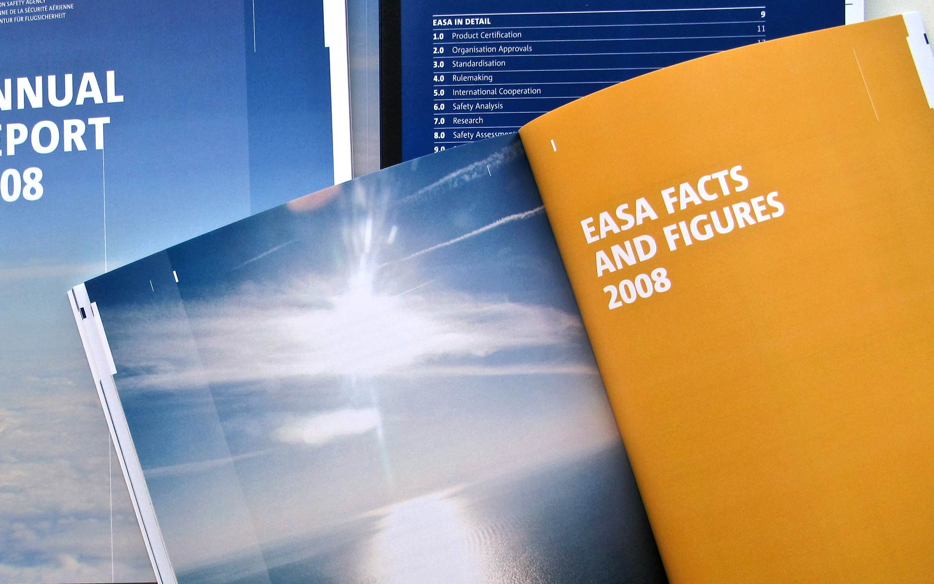 EASA Corporate Publishing, Annual Report, Doppelseite