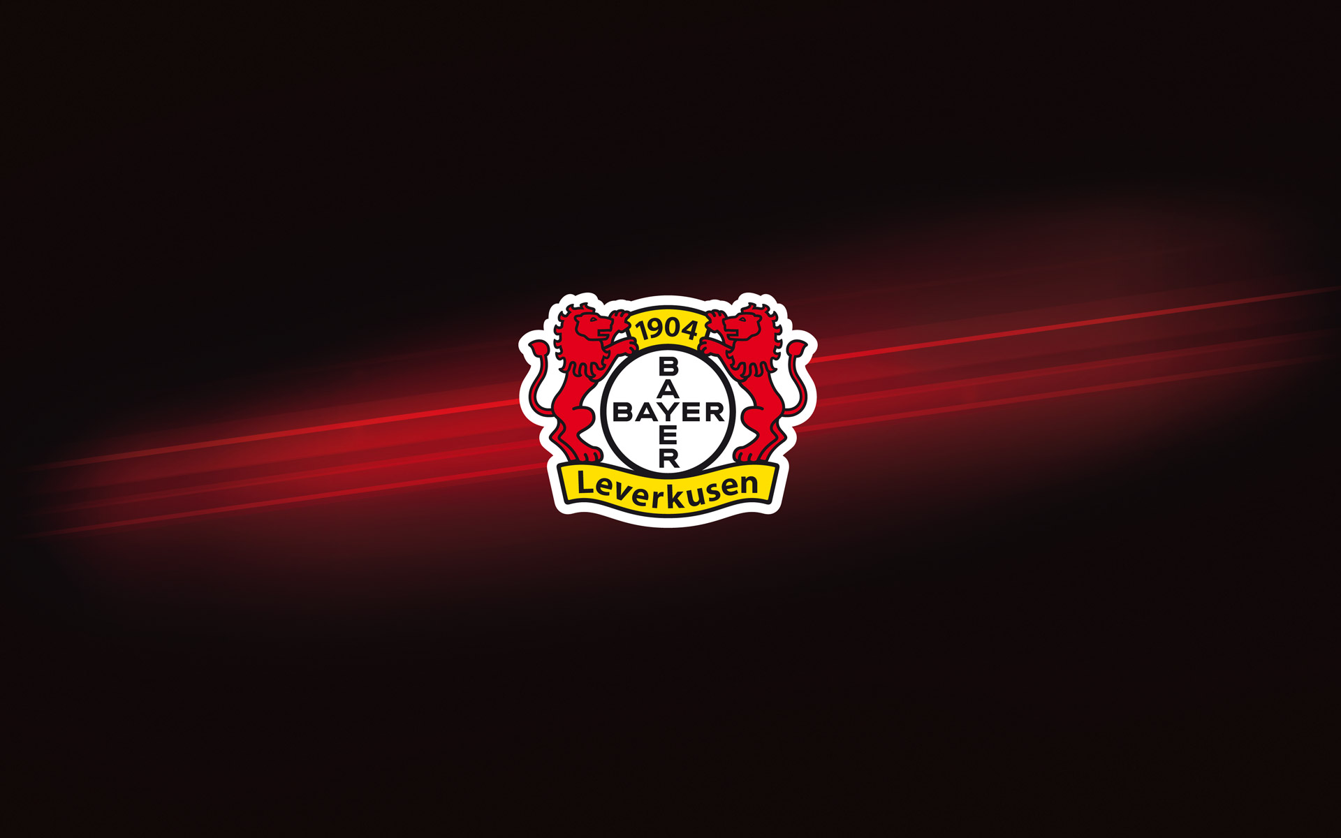 Bayer 04 Leverkusen Corporate Design, Gestaltungselement – der Laser