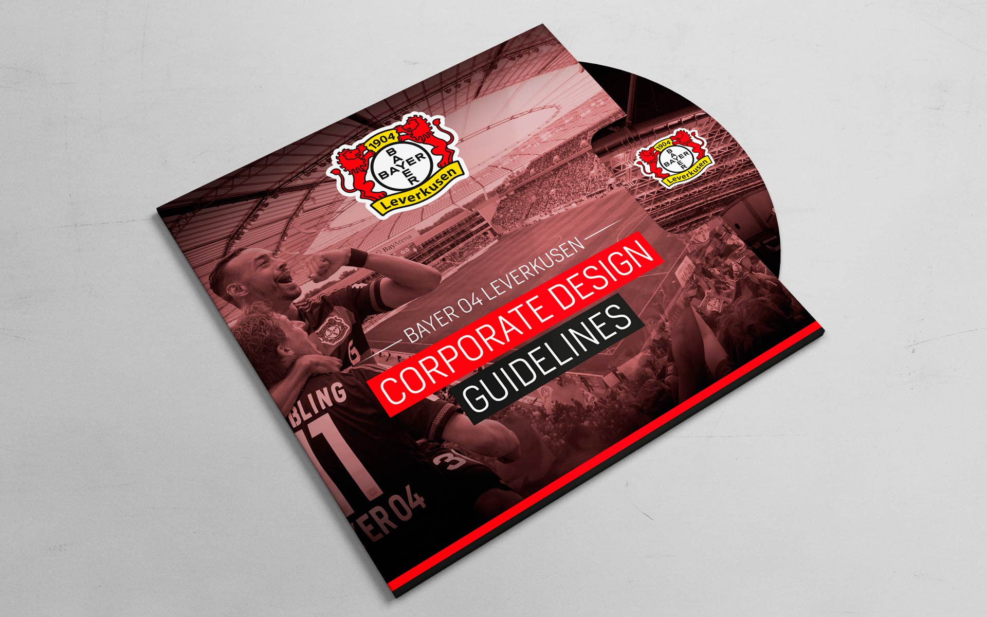 Bayer 04 Leverkusen Corporate Design, CD-Guidelines auf DVD
