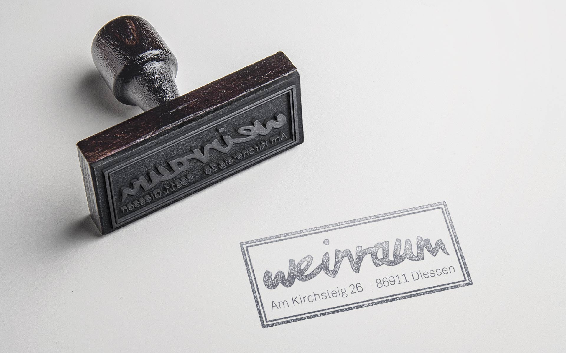 Weinraum Corporate Design, Stempel