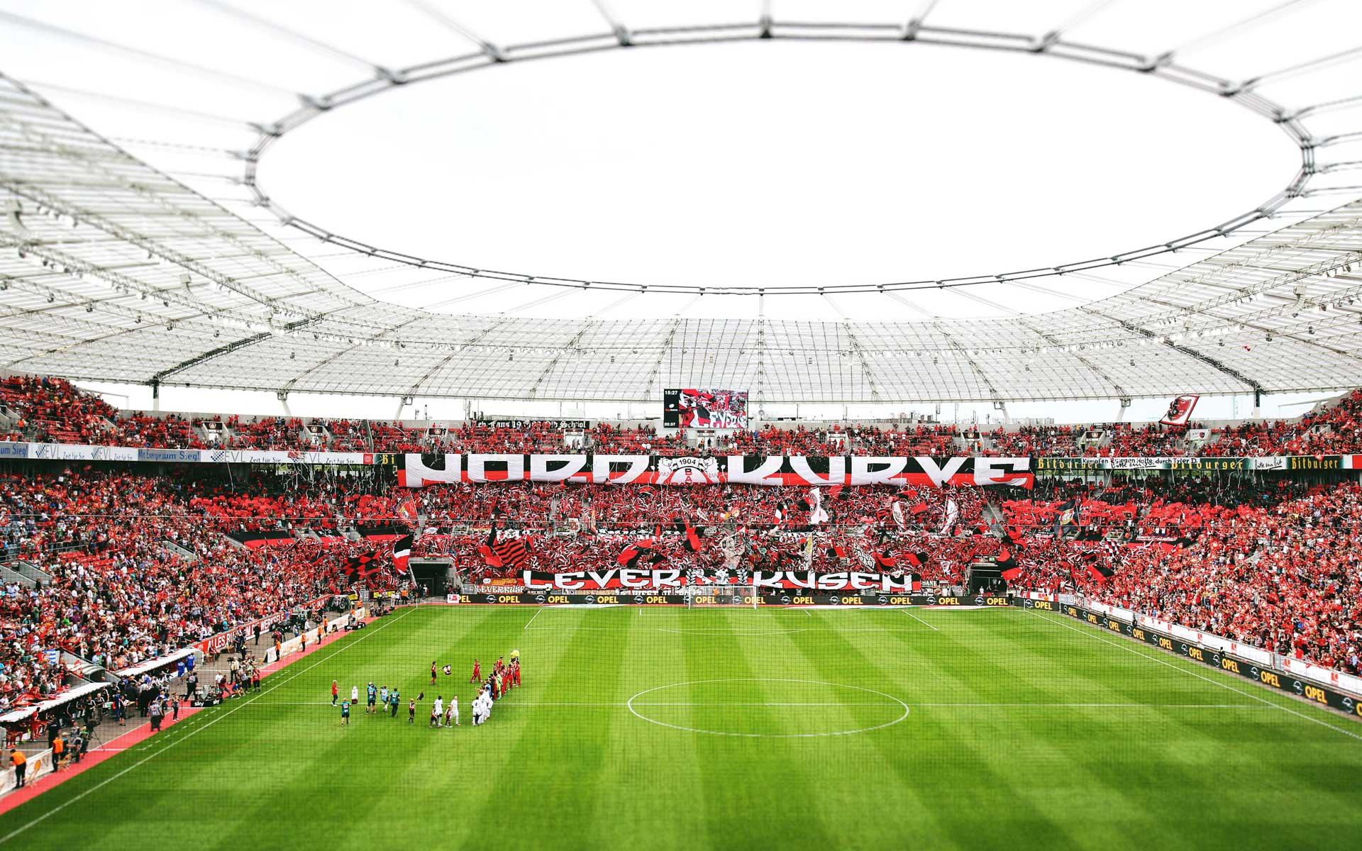 BayArena, Stadion von Bayer 04 Leverkusen