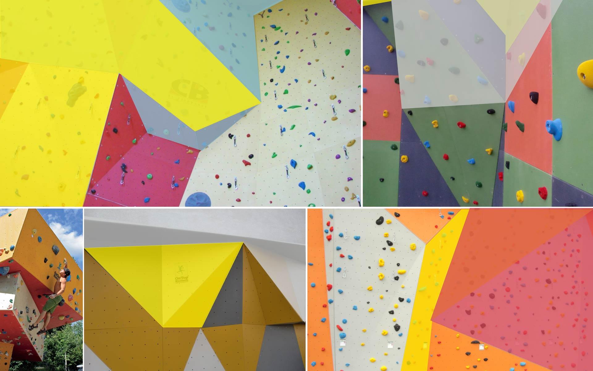Bergstation Corporate Design, Konzept, Farbflächen als Gestaltungselement