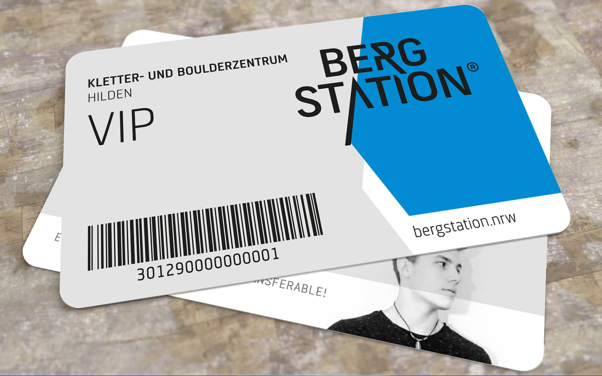 Bergstation Corporate Design, VIP Card