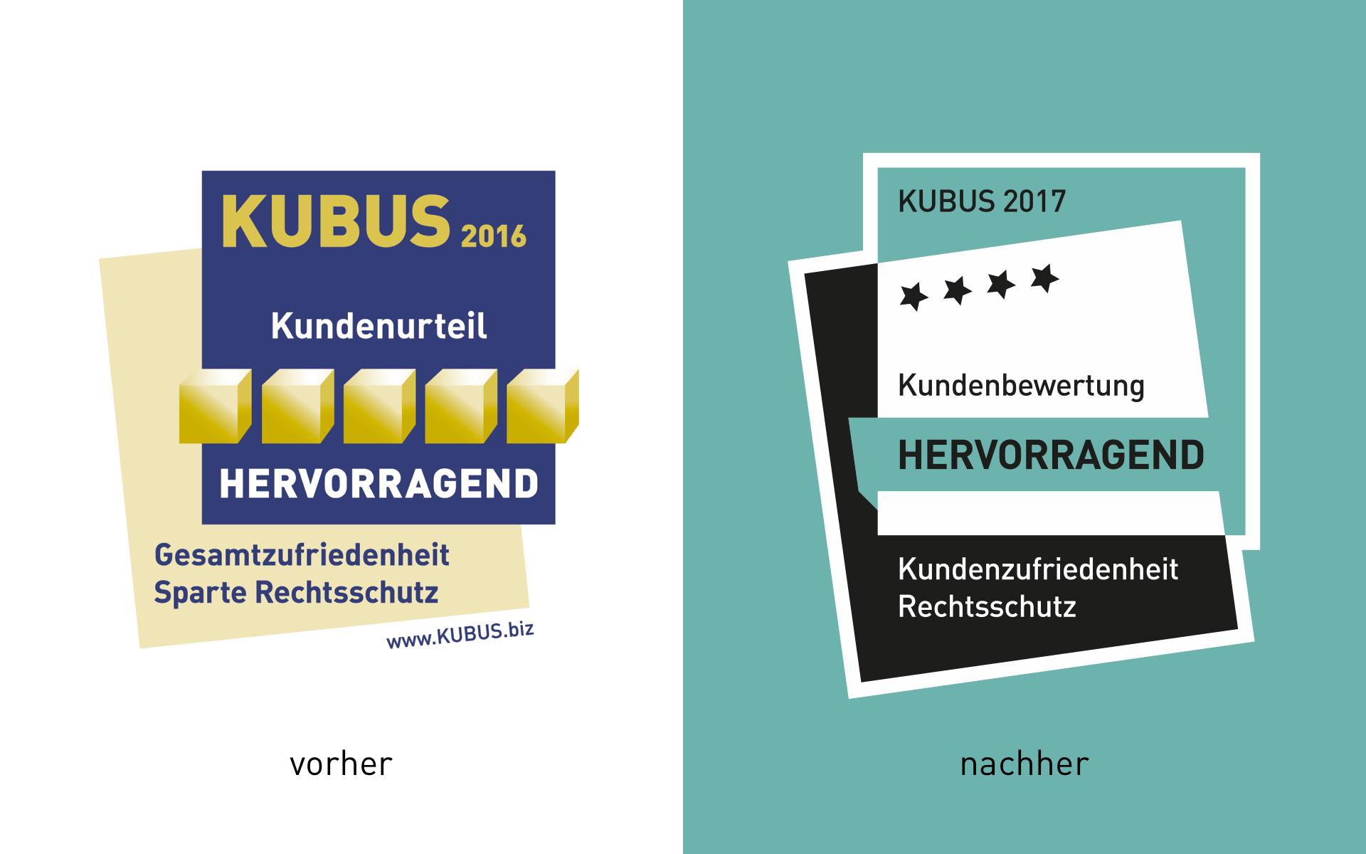 MSR Consulting Group GmbH , Gütesiegel Redesign Vergleich alt-neu