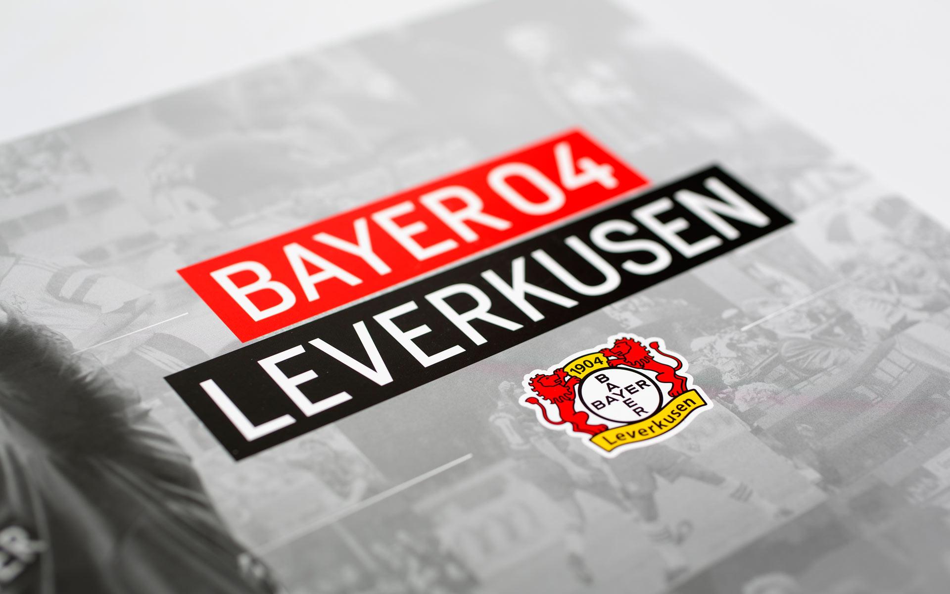 Bayer 04 Sponsoren Akquisition, Titel der Imagebroschüre