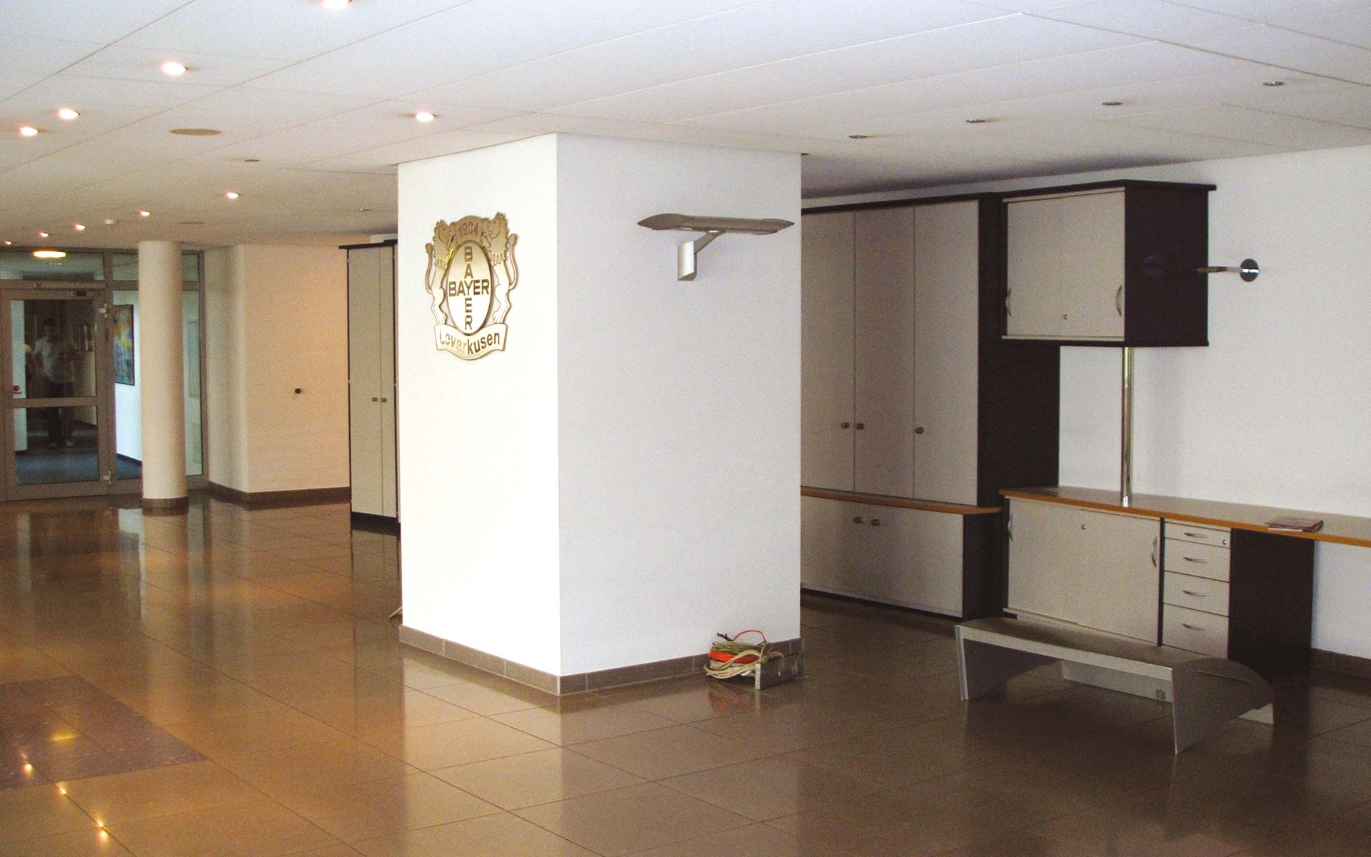 Bayer 04 Foyer BayArena, Zustand vor dem Umbau