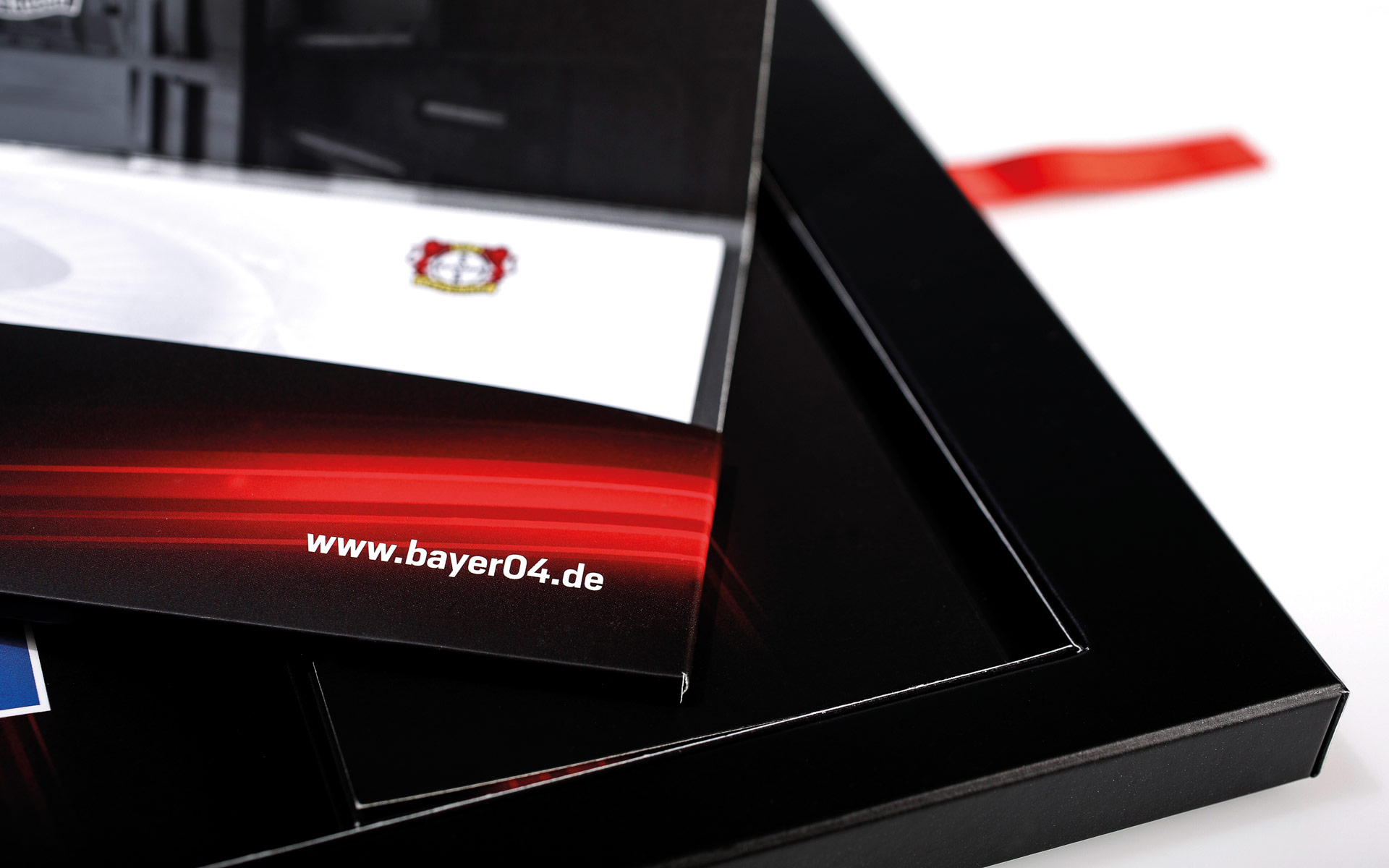 Bayer 04 VIP-Ticketbox, Tickethülle, Webadresse