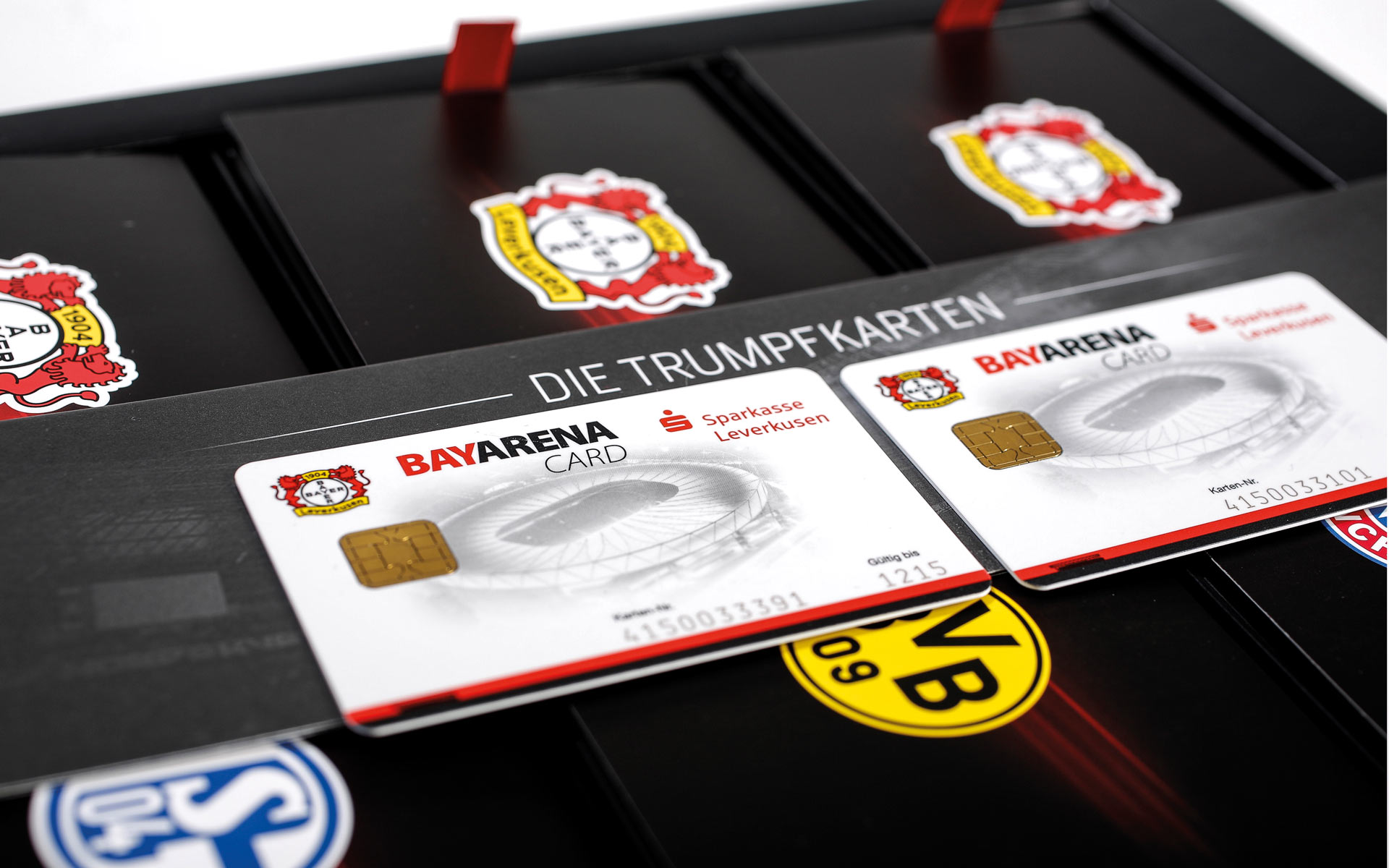 Bayer 04 VIP-Ticketbox, BayArena Card