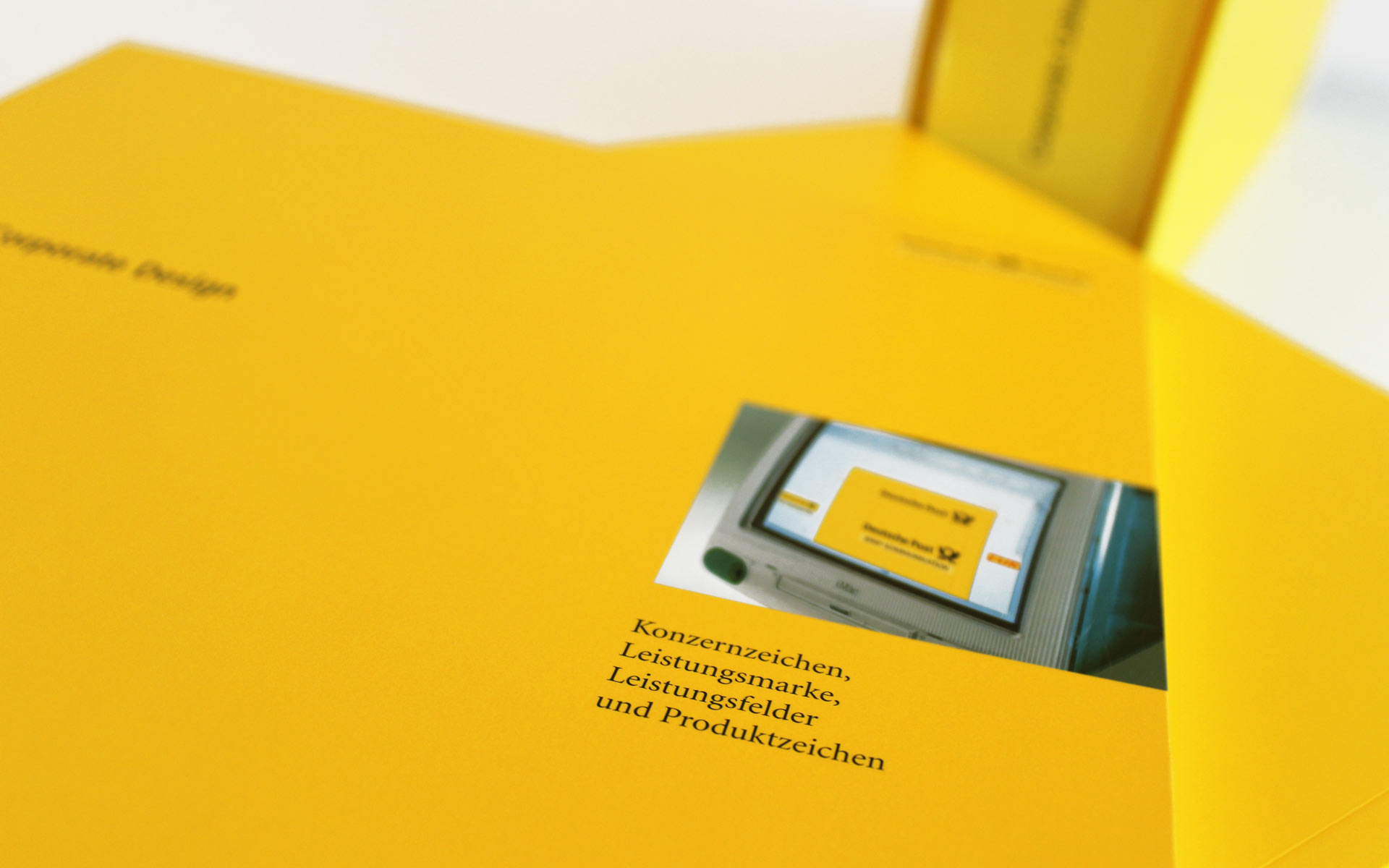 Deutsche Post AG / DHL Corporate Design,  CD-Manual, Titel