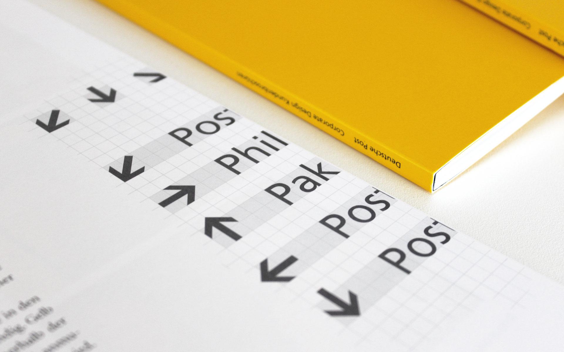 Deutsche Post AG / DHL Corporate Design, Systematik für Wegeleitsysteme