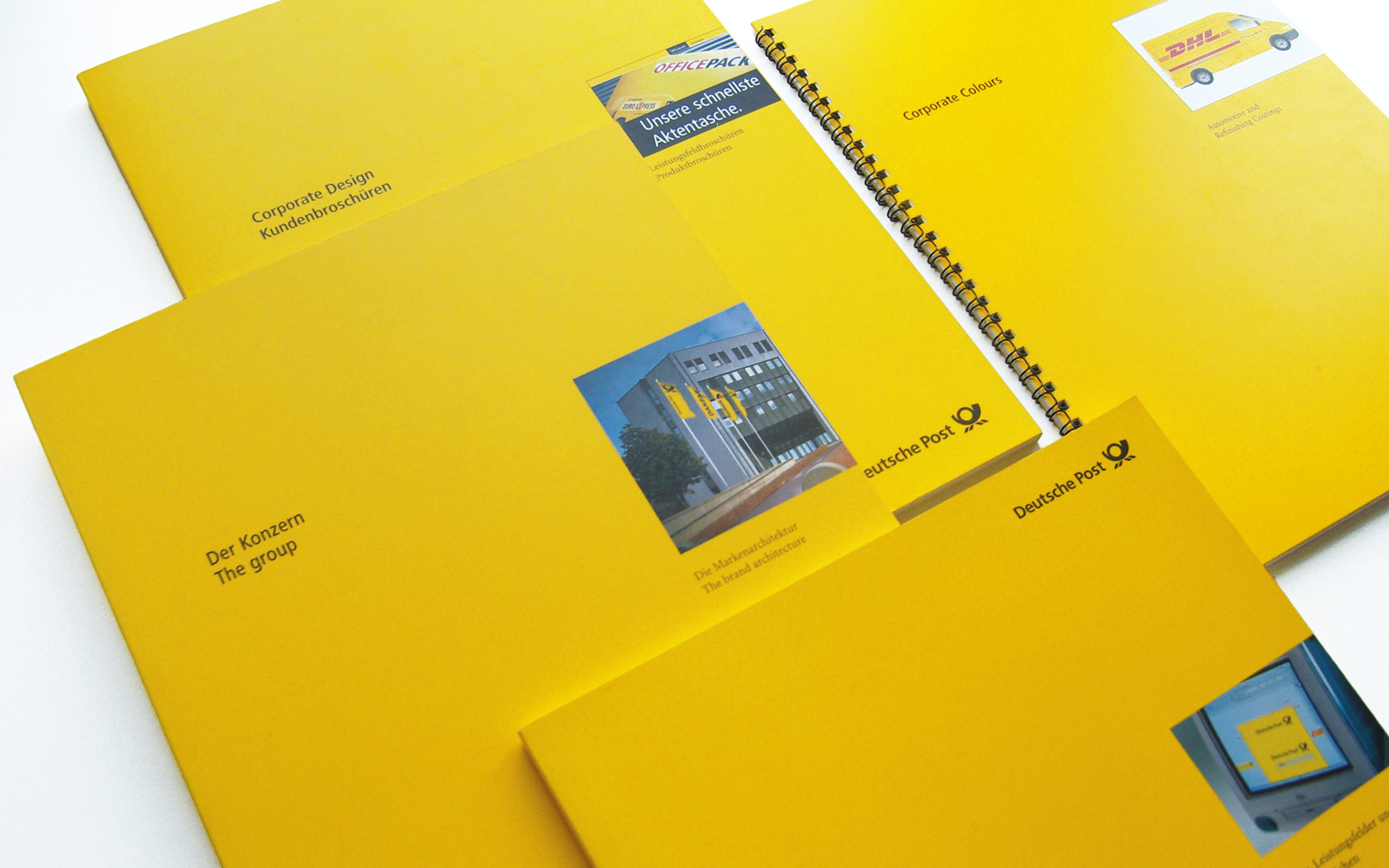 Deutsche Post AG / DHL Corporate Design,  CD-Manuals