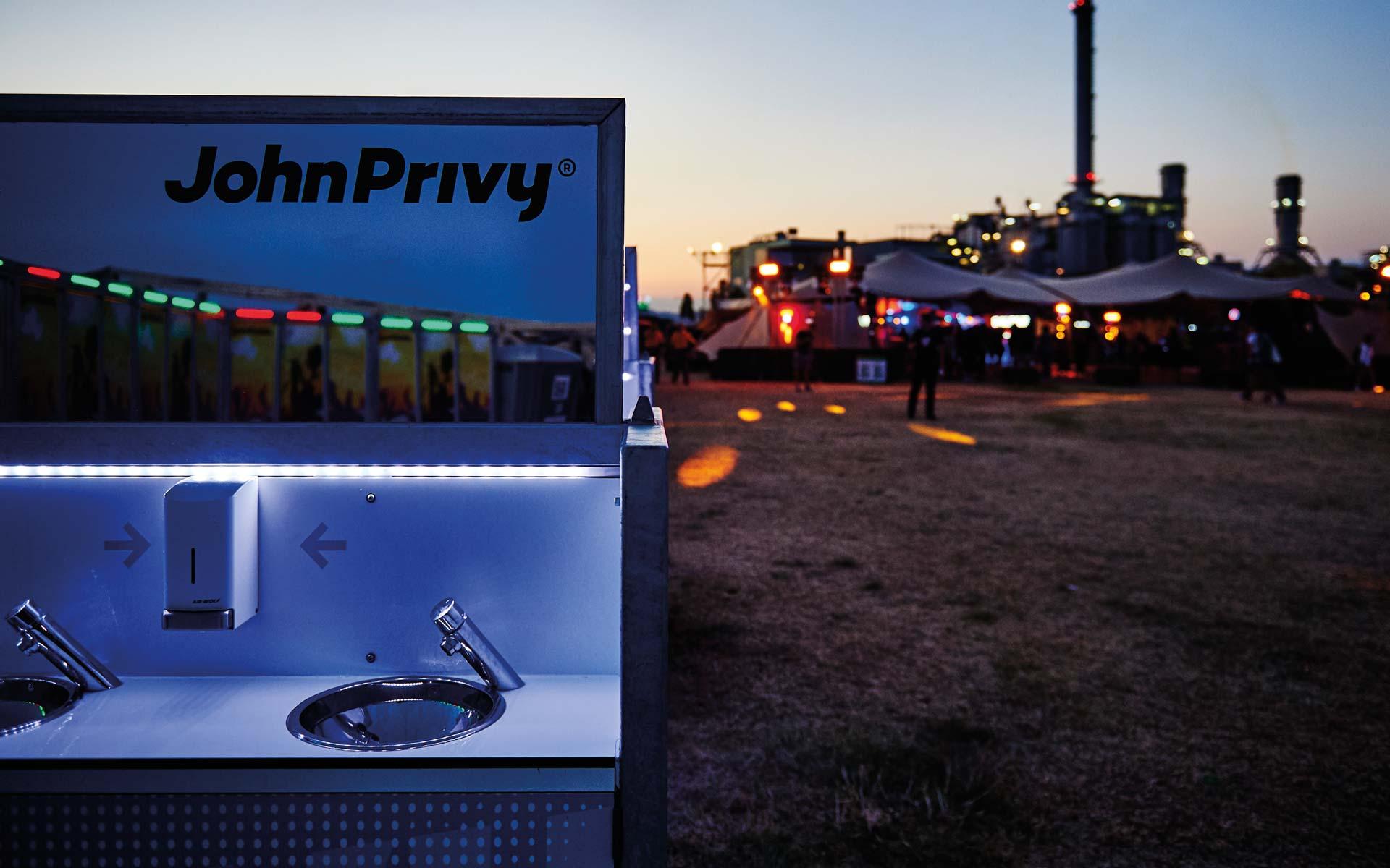 John Privy® Brand Identity, Logotype, Corporate Design Entwicklung, Waschbecken bei Nacht, Branding