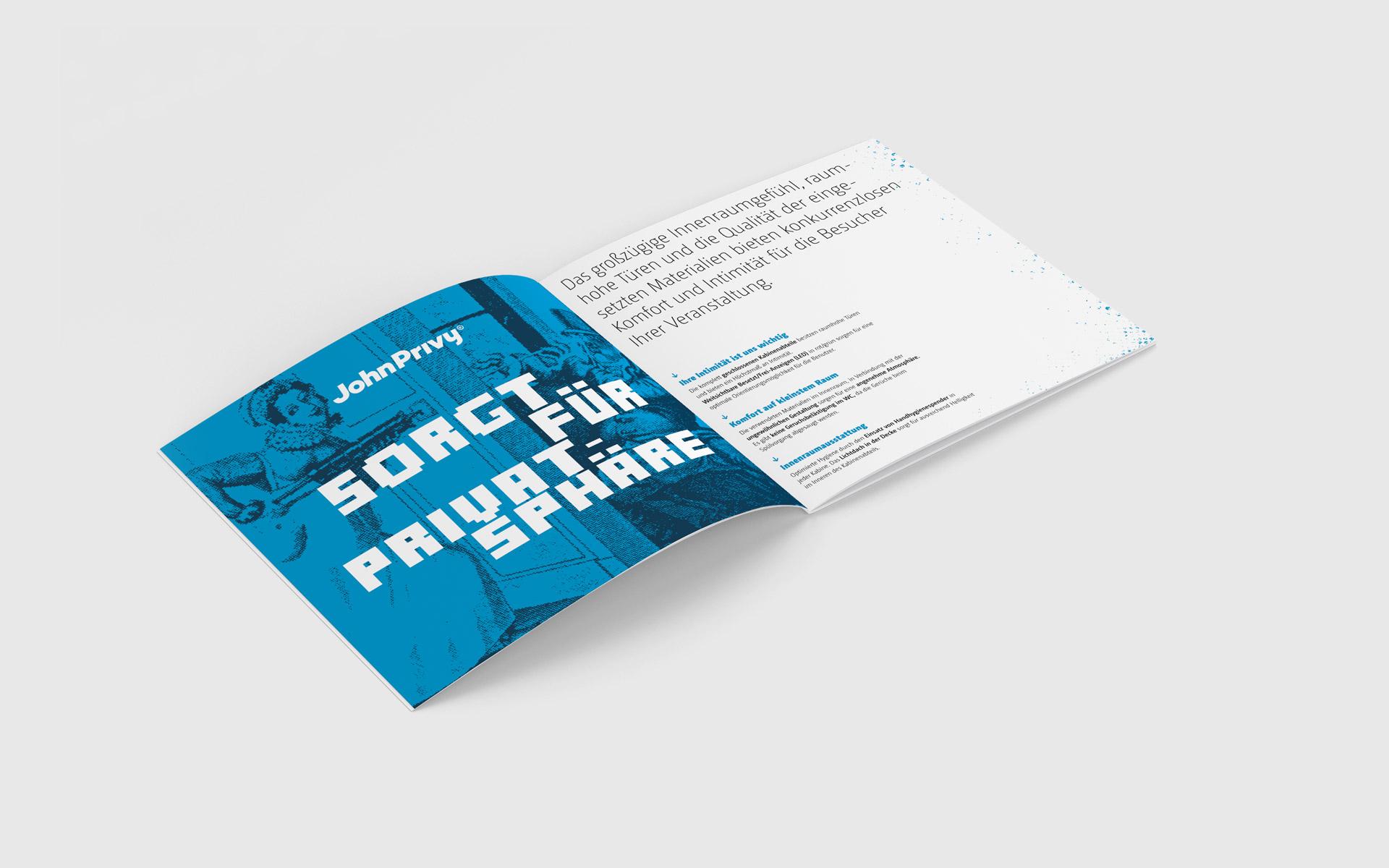 John Privy® Brand Identity, Logotype, Corporate Design Entwicklung, Broschürendesign