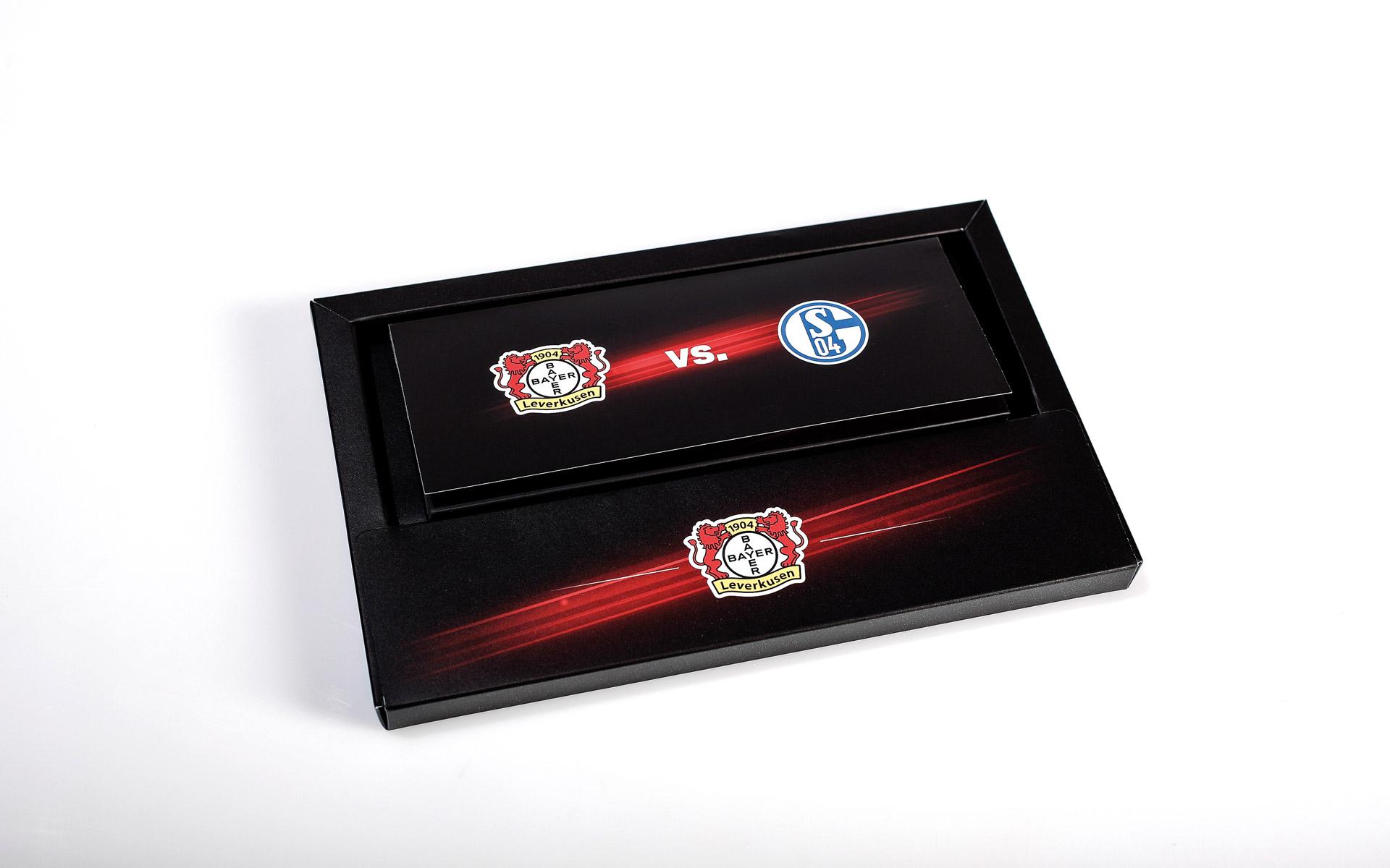Bayer 04 VIP-Ticketbox, Tickethüllen