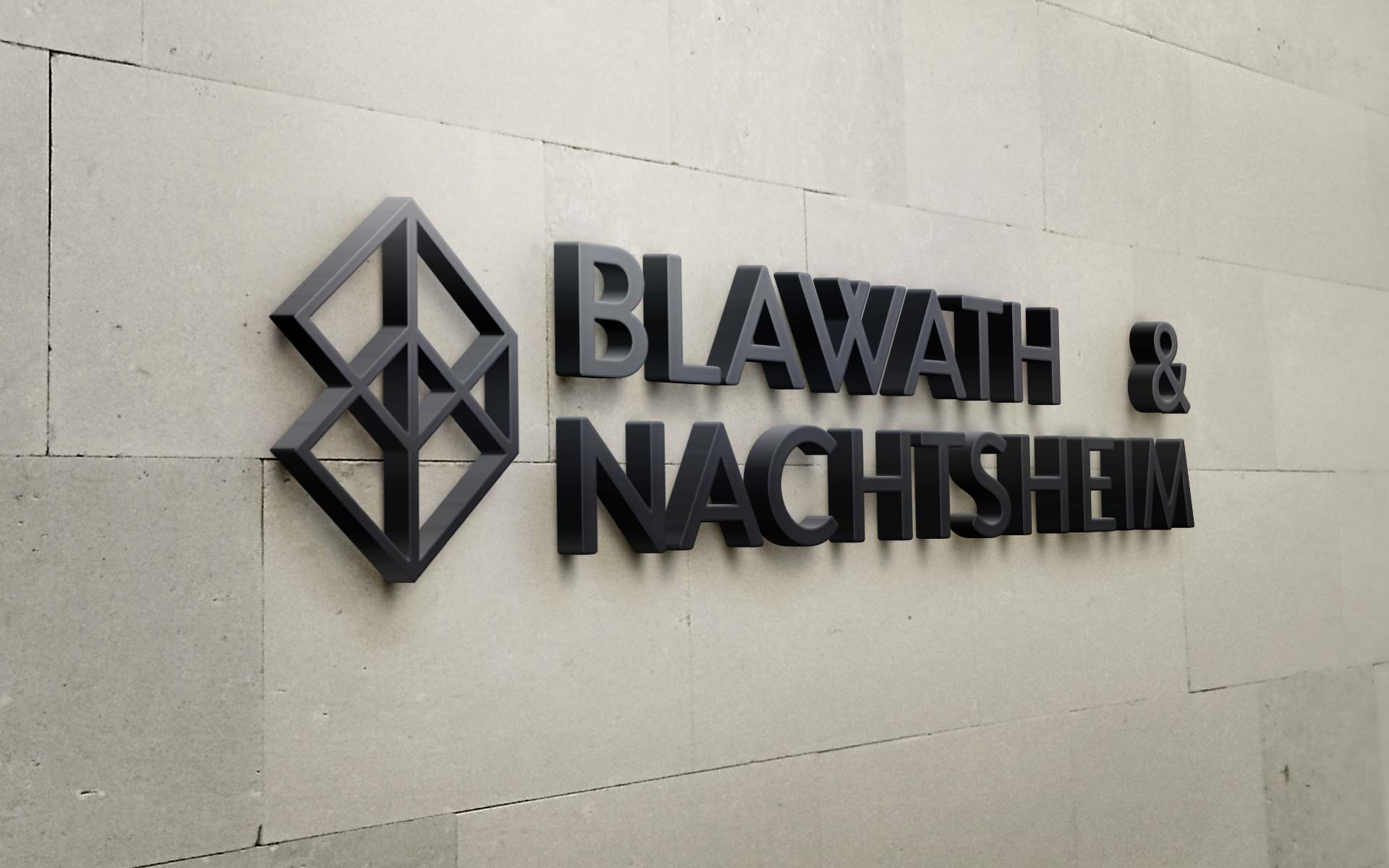 Blawath & Nachtsheim Corporate Design, Signage