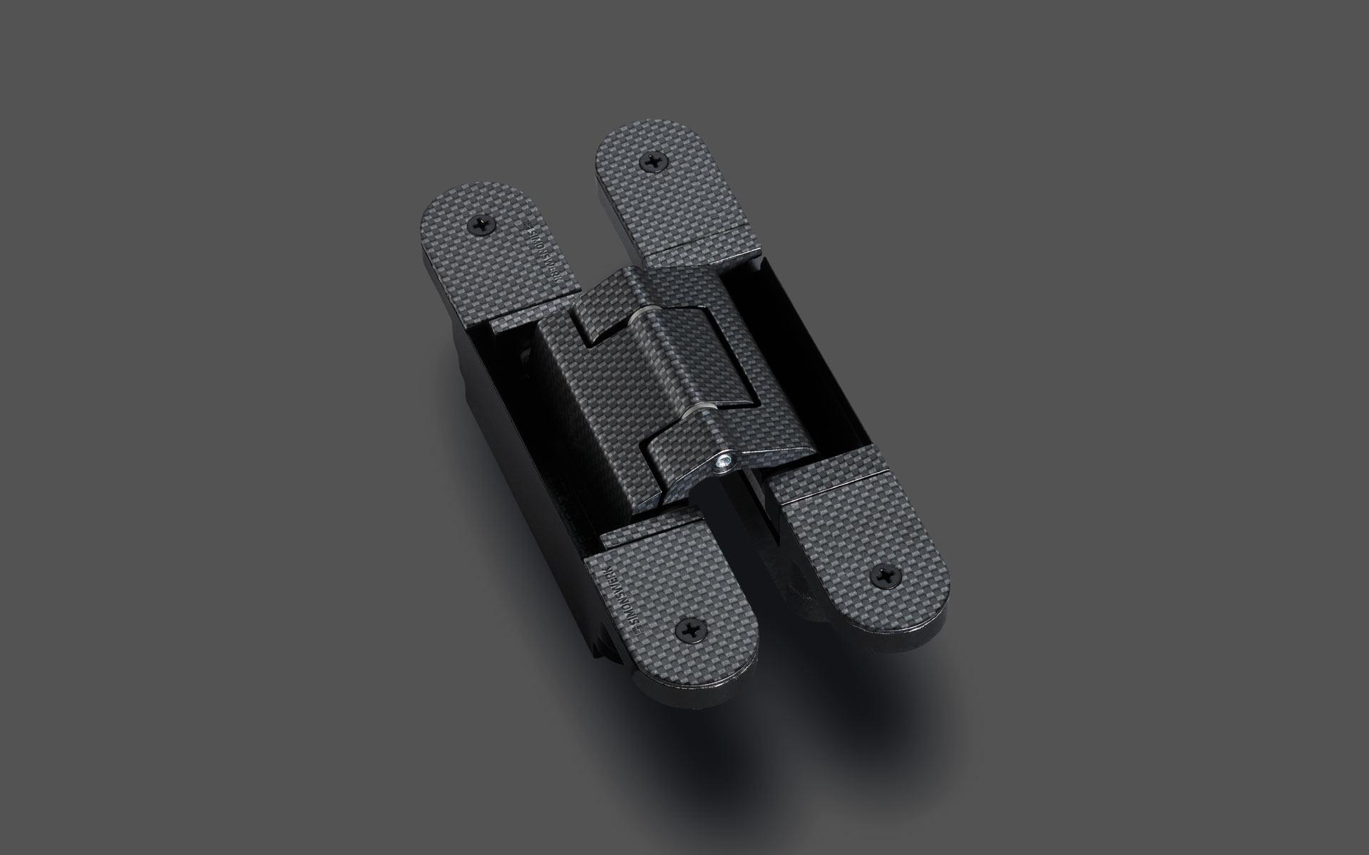 Simonswerk Bildsprache, Produkt, Bandystem TECTUS in Carbon-Optik