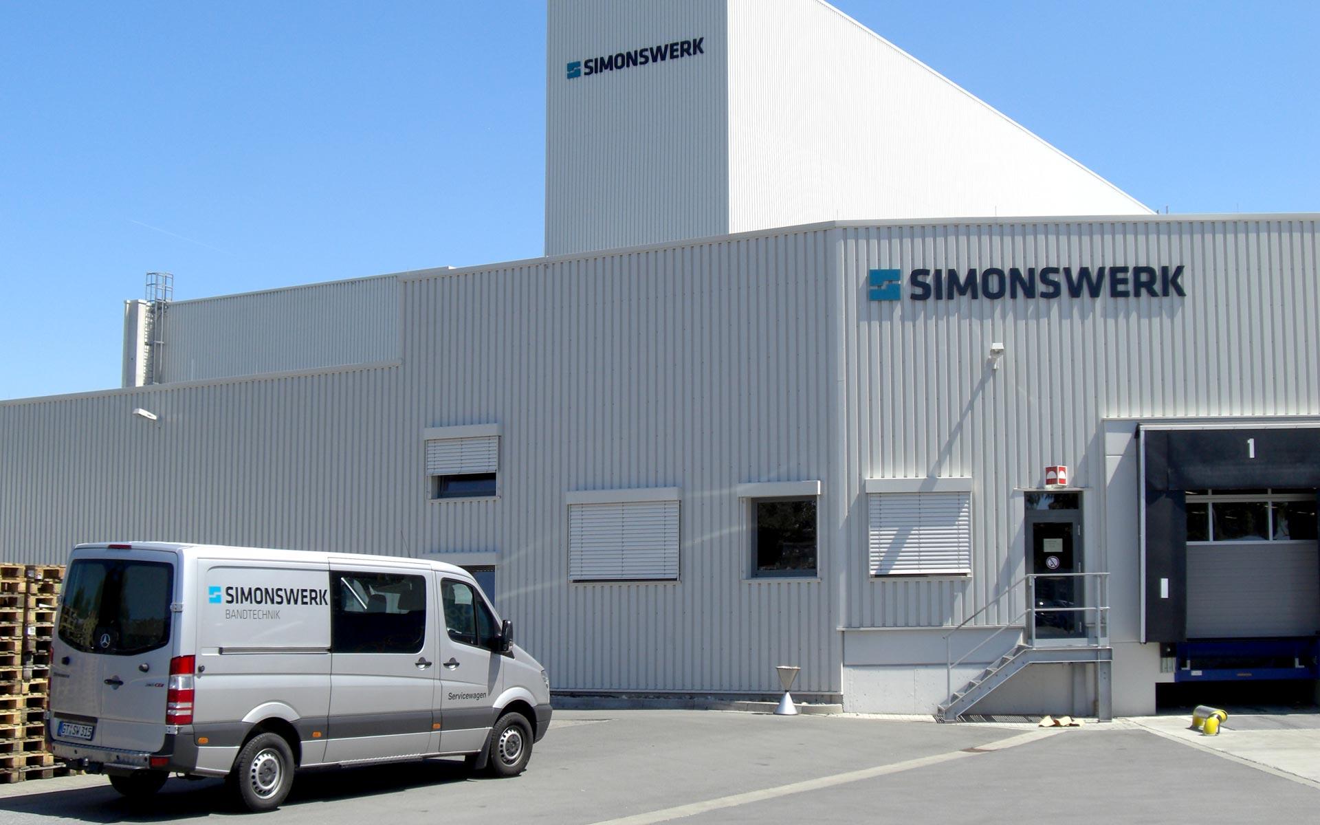 Simonswerk Corporate Design, Gebäudekennzeichnung