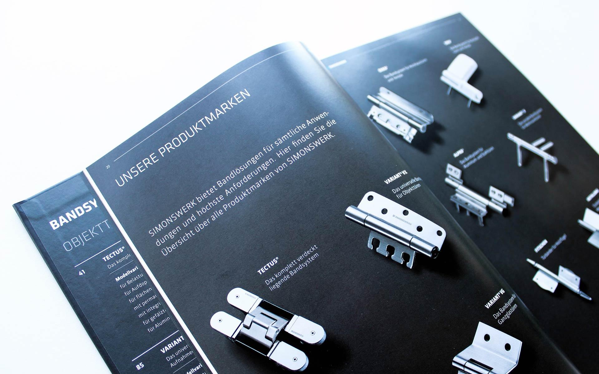 Simonswerk Handbuch 2015, Produktmarken-Index