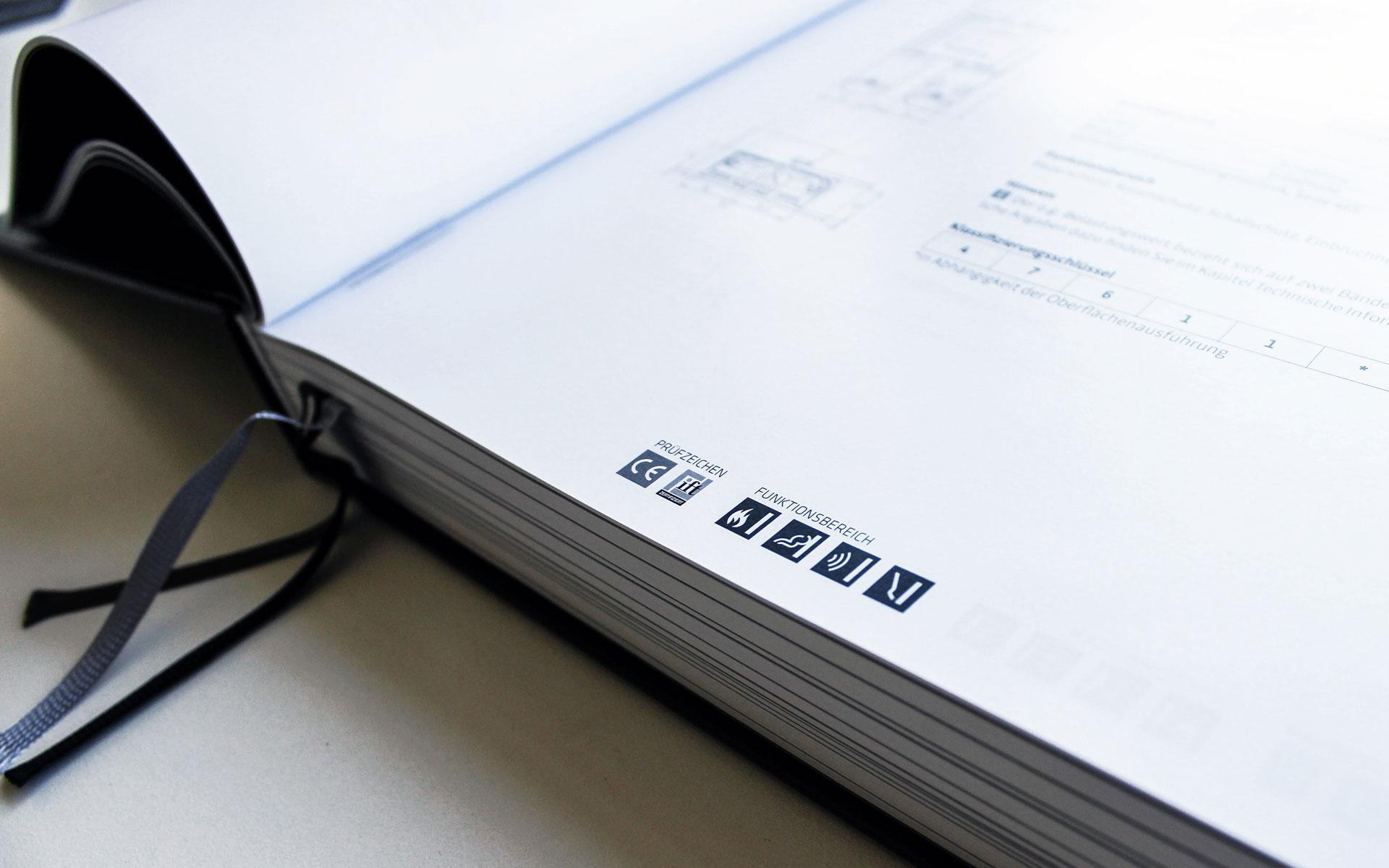 Simonswerk Handbuch 2015, Piktogramme