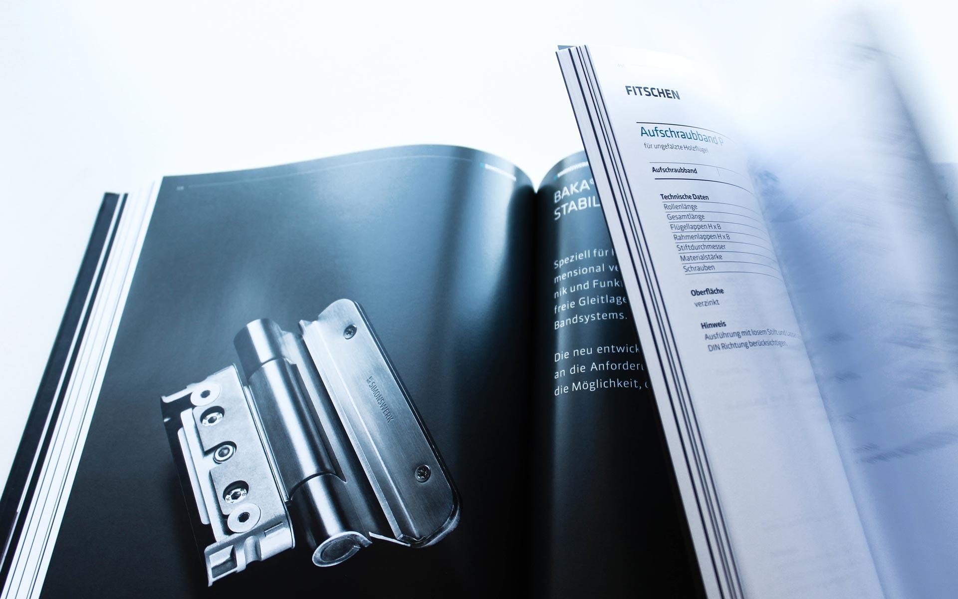 Simonswerk Handbuch 2015, Produktindex