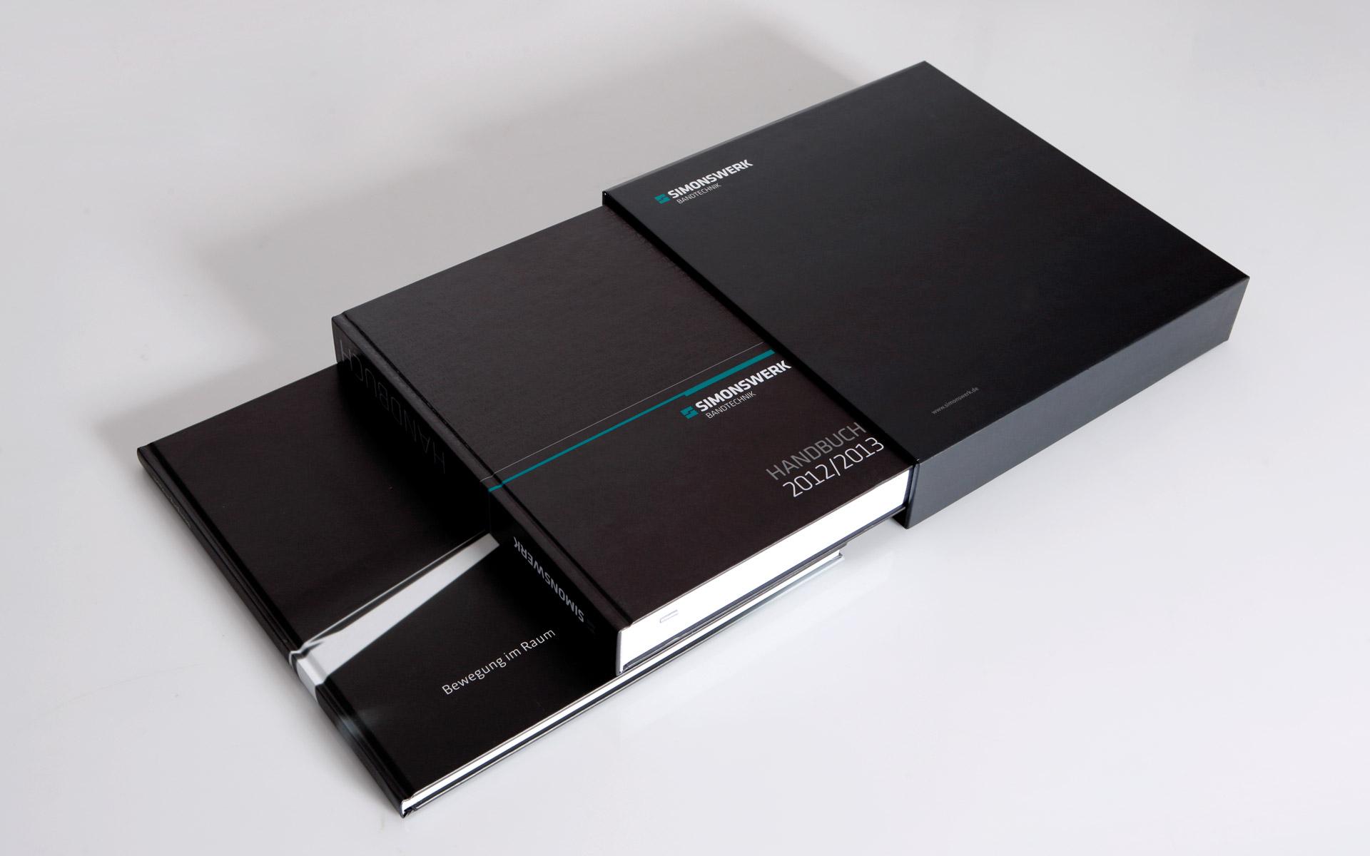 Simonswerk Kompendium 2012, Schuber und Handbücher