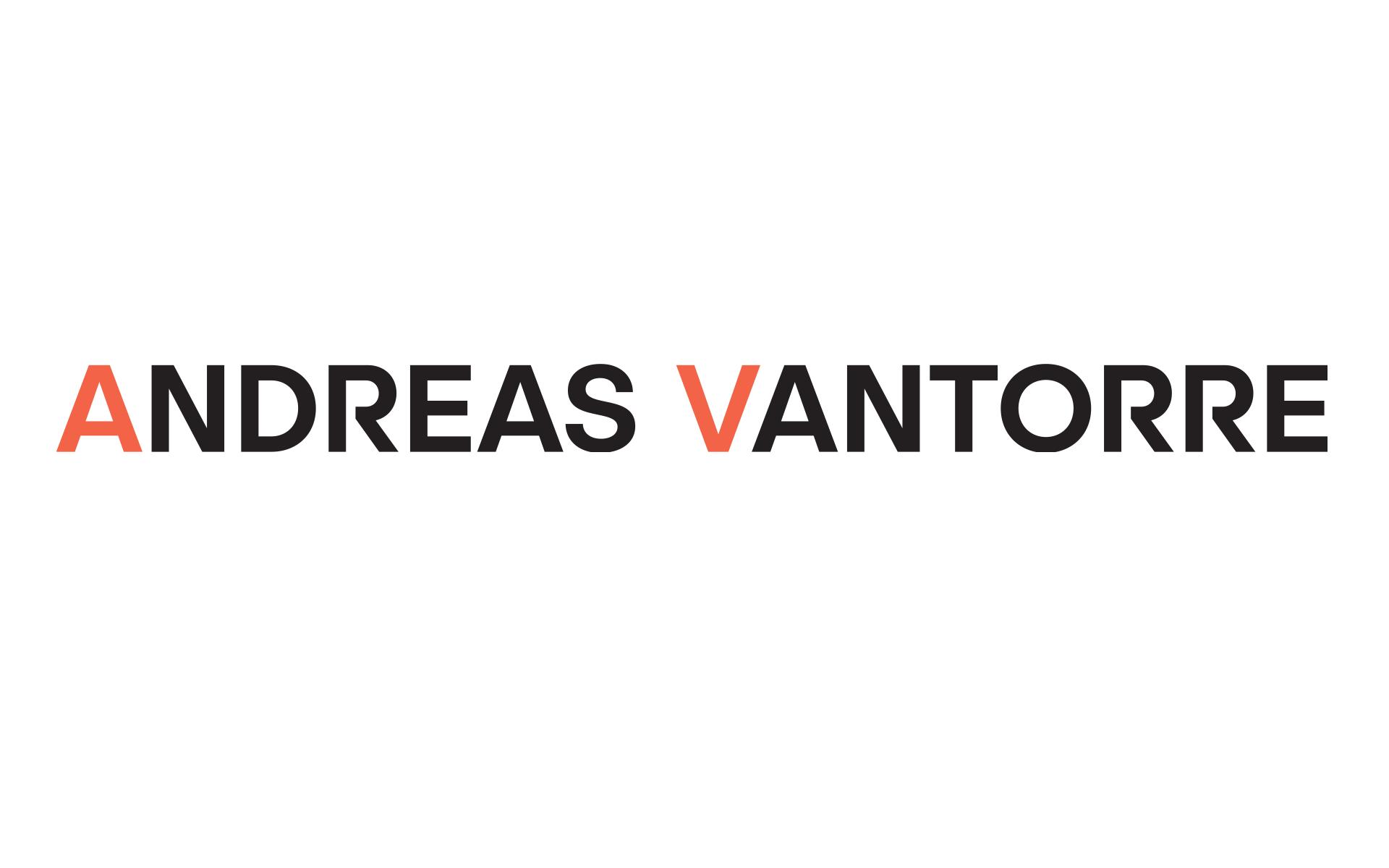 Andreas Vantorre, Logotype, Herleitung der Wortmarke aus dem Namen heraus