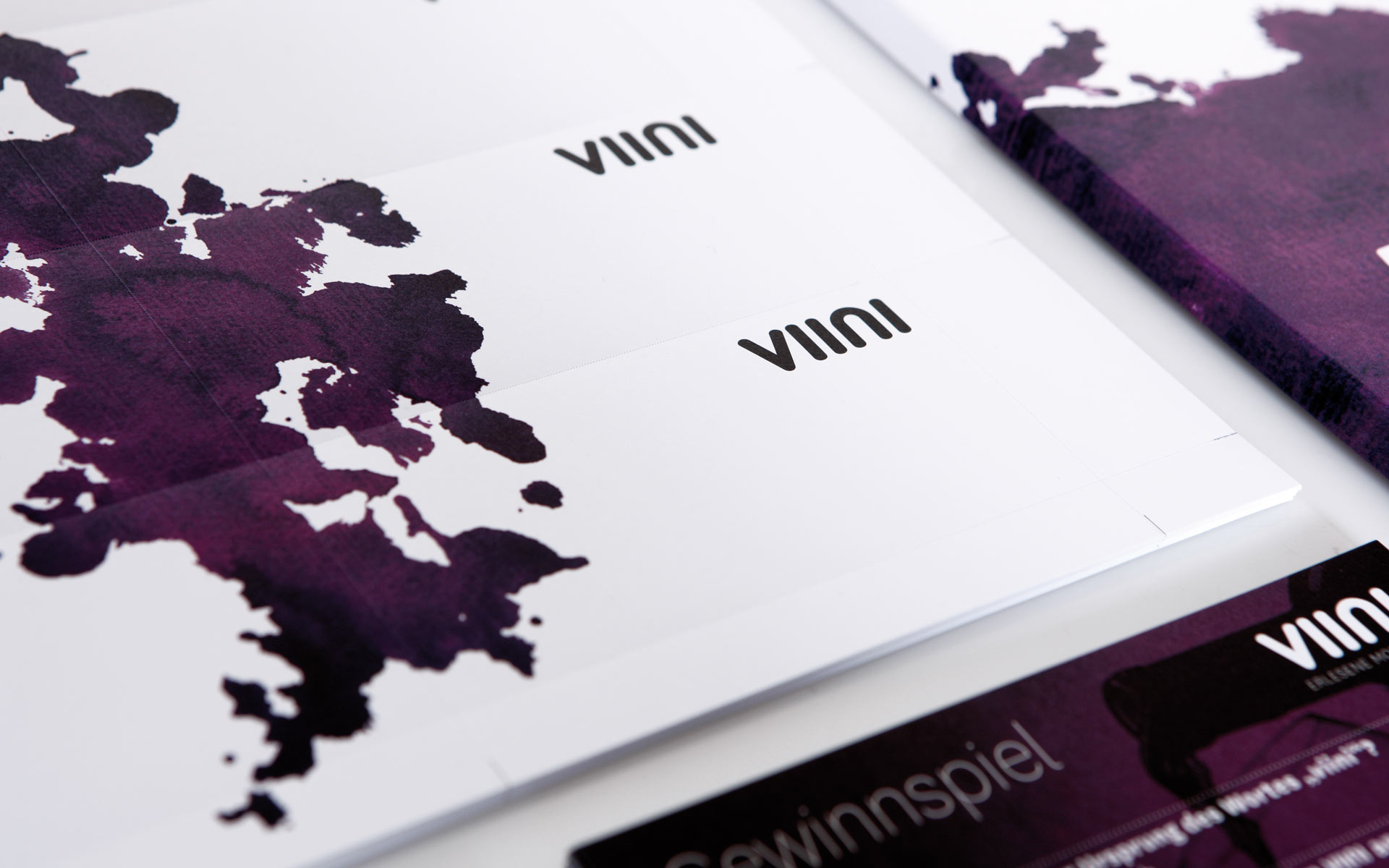 VIINI Brand Identity, Corporate Design, Logotype