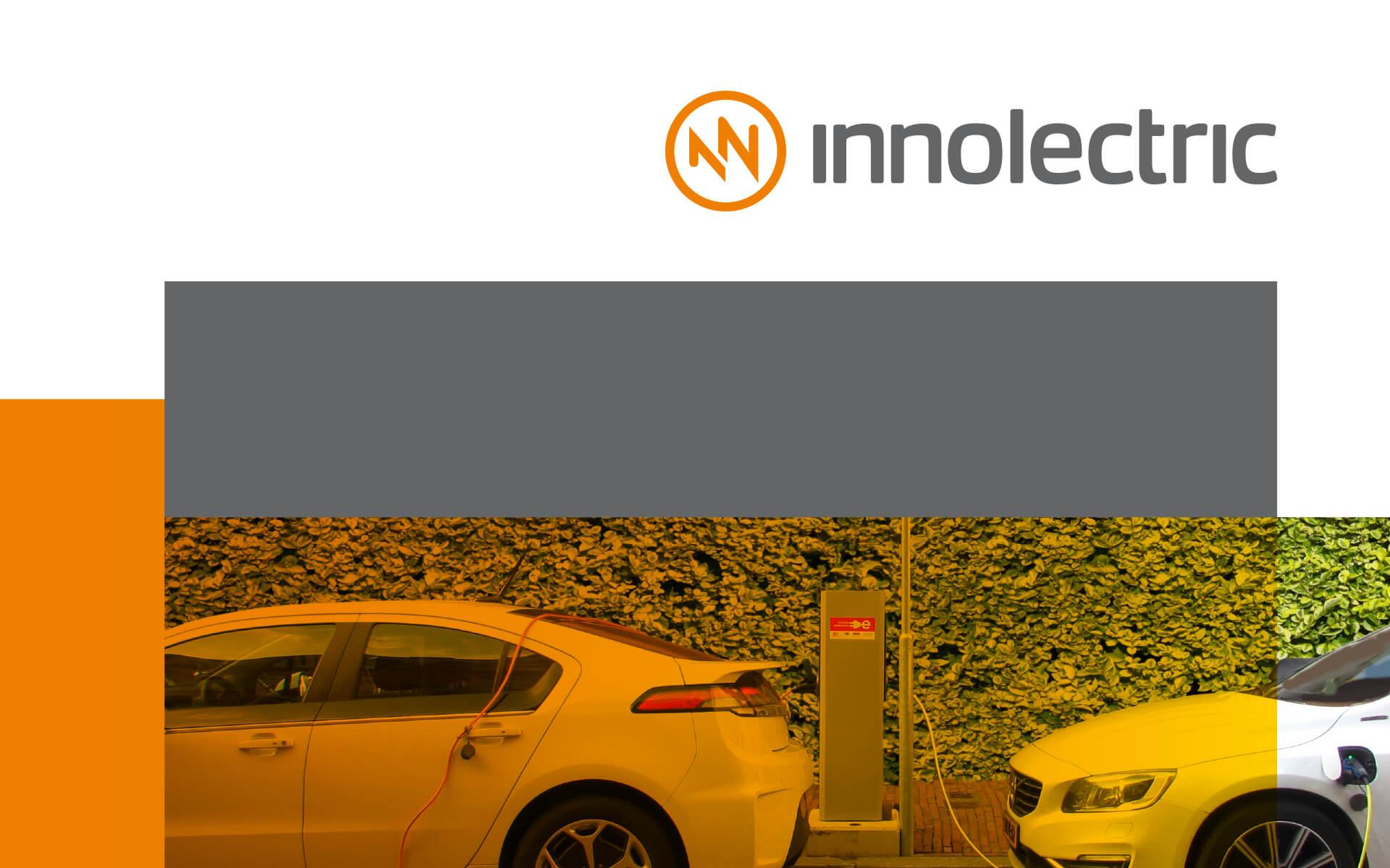 innolectric Corporate Design, Layouttektonik