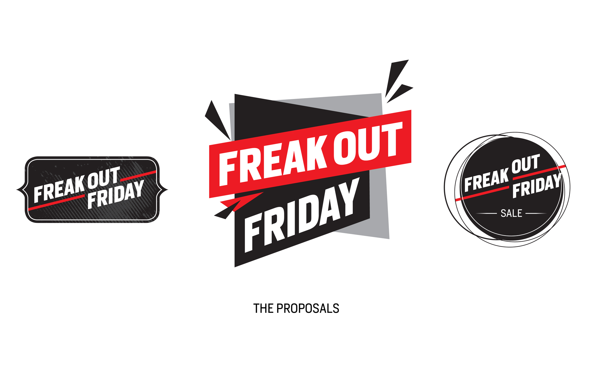 "Saleskampagne ""Freakout Friday"", Bayer 04 Leverkusen, Markenkommunikation, Corporate Design, Keyvisual Varianten"