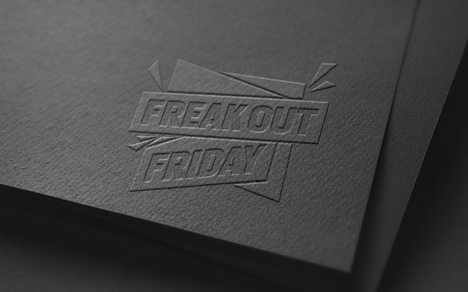"Saleskampagne ""Freakout Friday"", Bayer 04 Leverkusen, Markenkommunikation, Corporate Design, 1c-Variante geprägt"