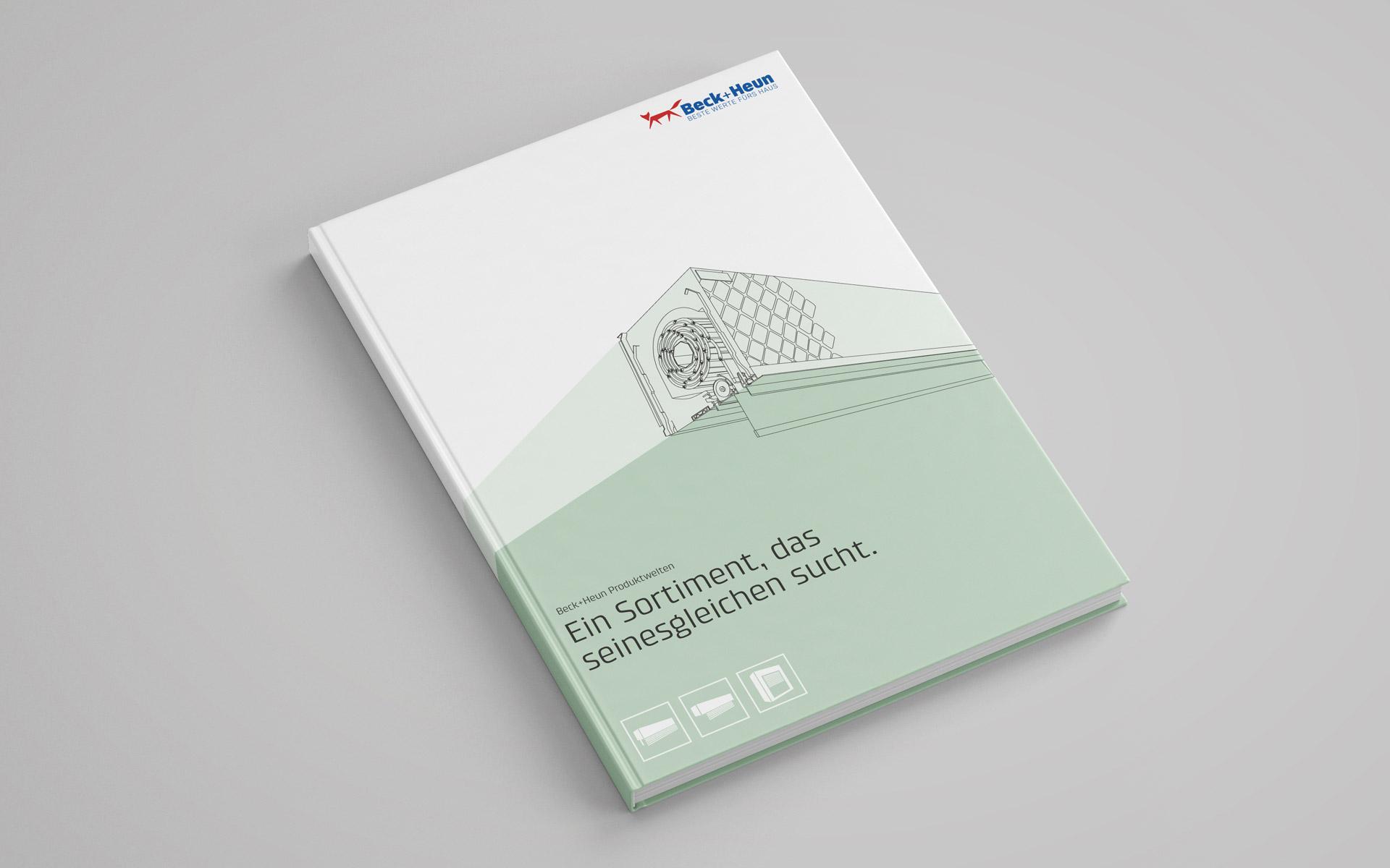 Beck+Heun Corporate Design, Markenkommunikation, Kataloggestaltung, Titel