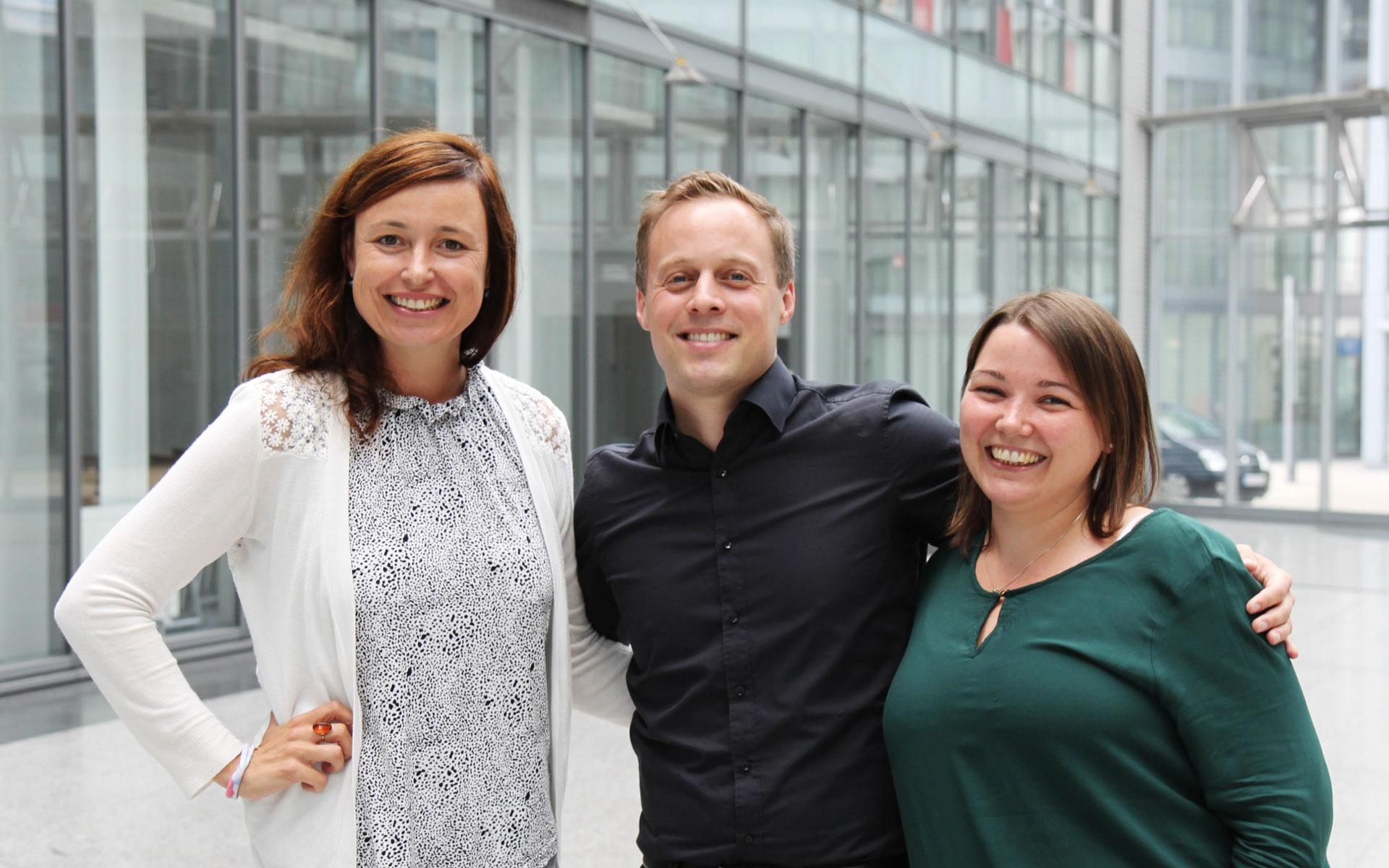 Jobtalk an der MDH mit Carsten Prenger von stay golden mit Miriam Meerfeld