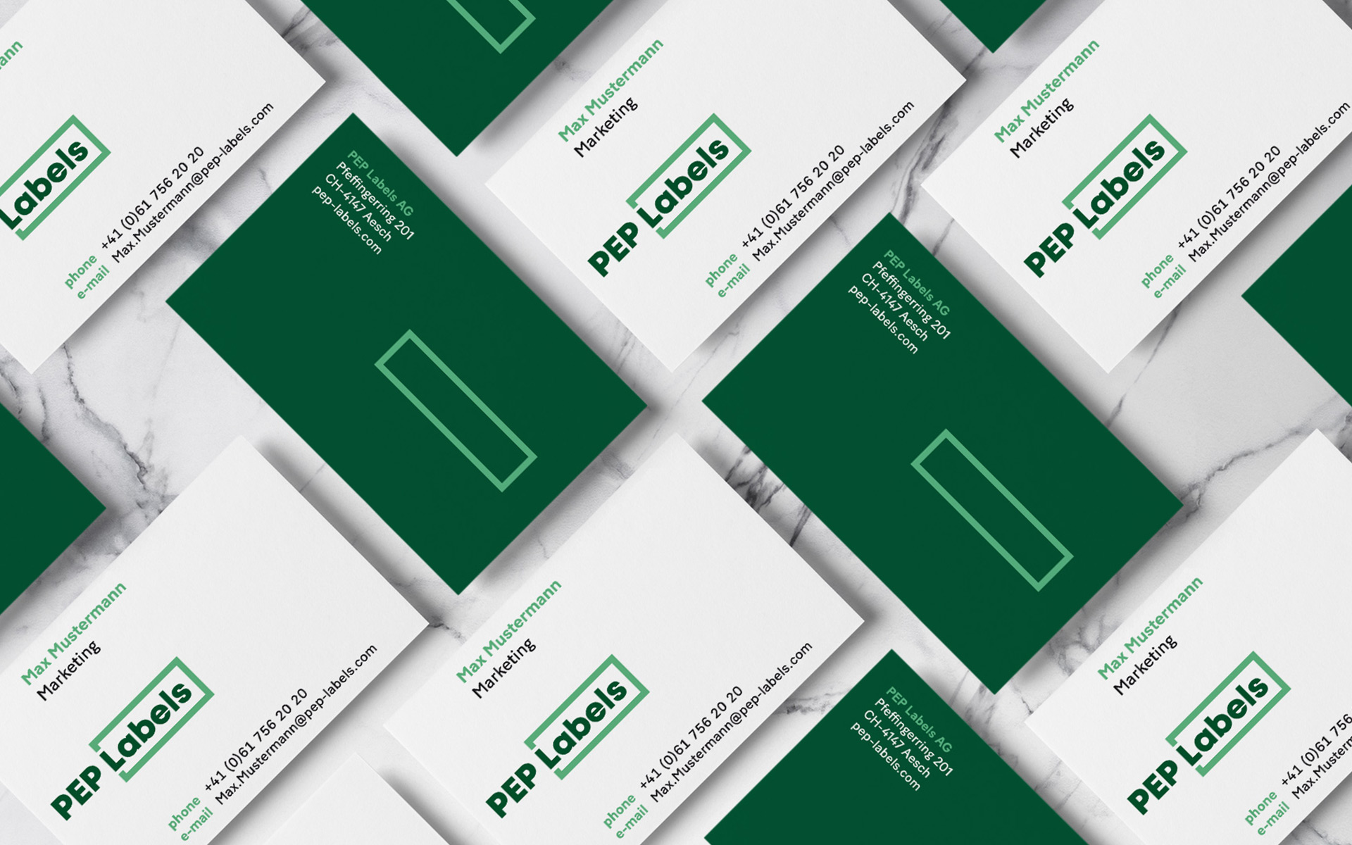 PEP Labels AG, Branding, Corporate Design