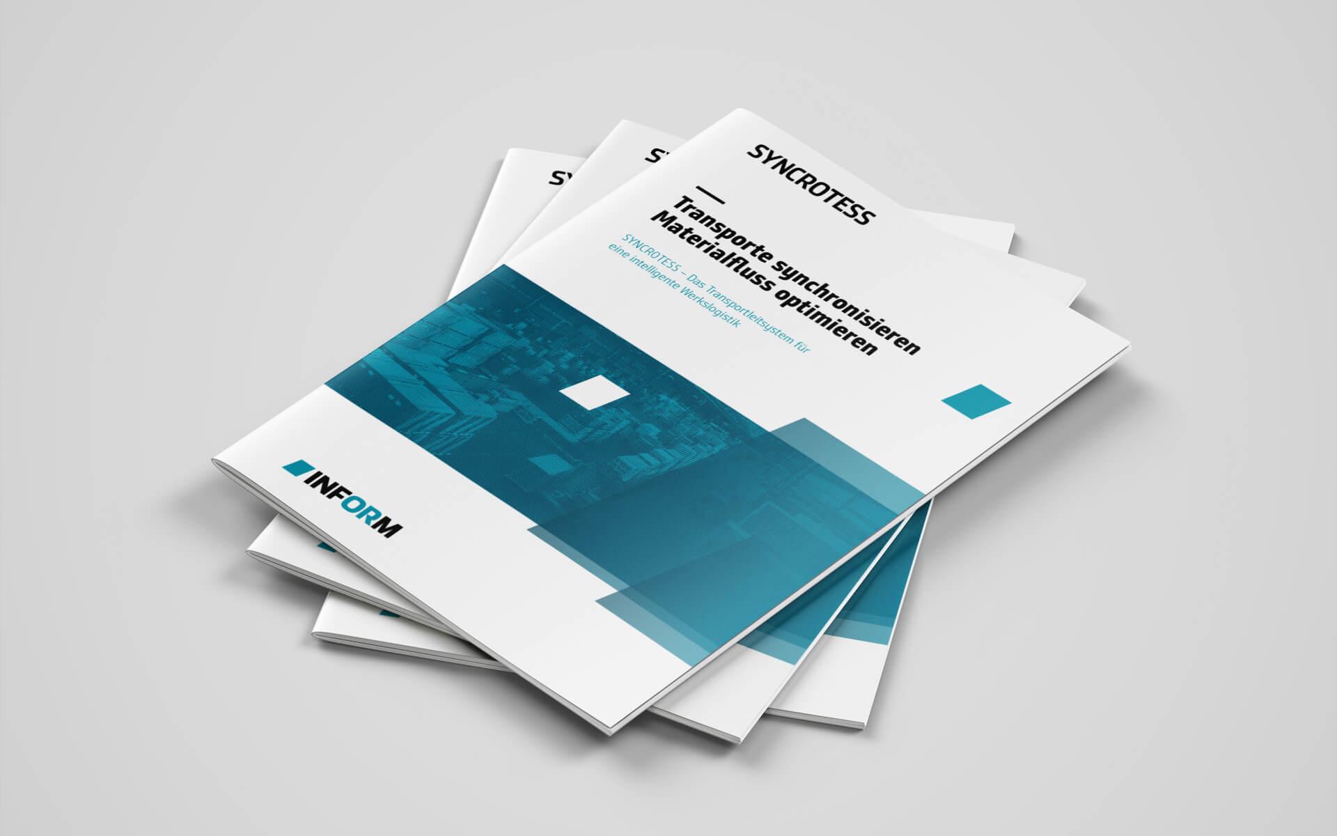 inform Corporate Design, Branding, Literaturwesen, Broschürendesign, Broschürentitel