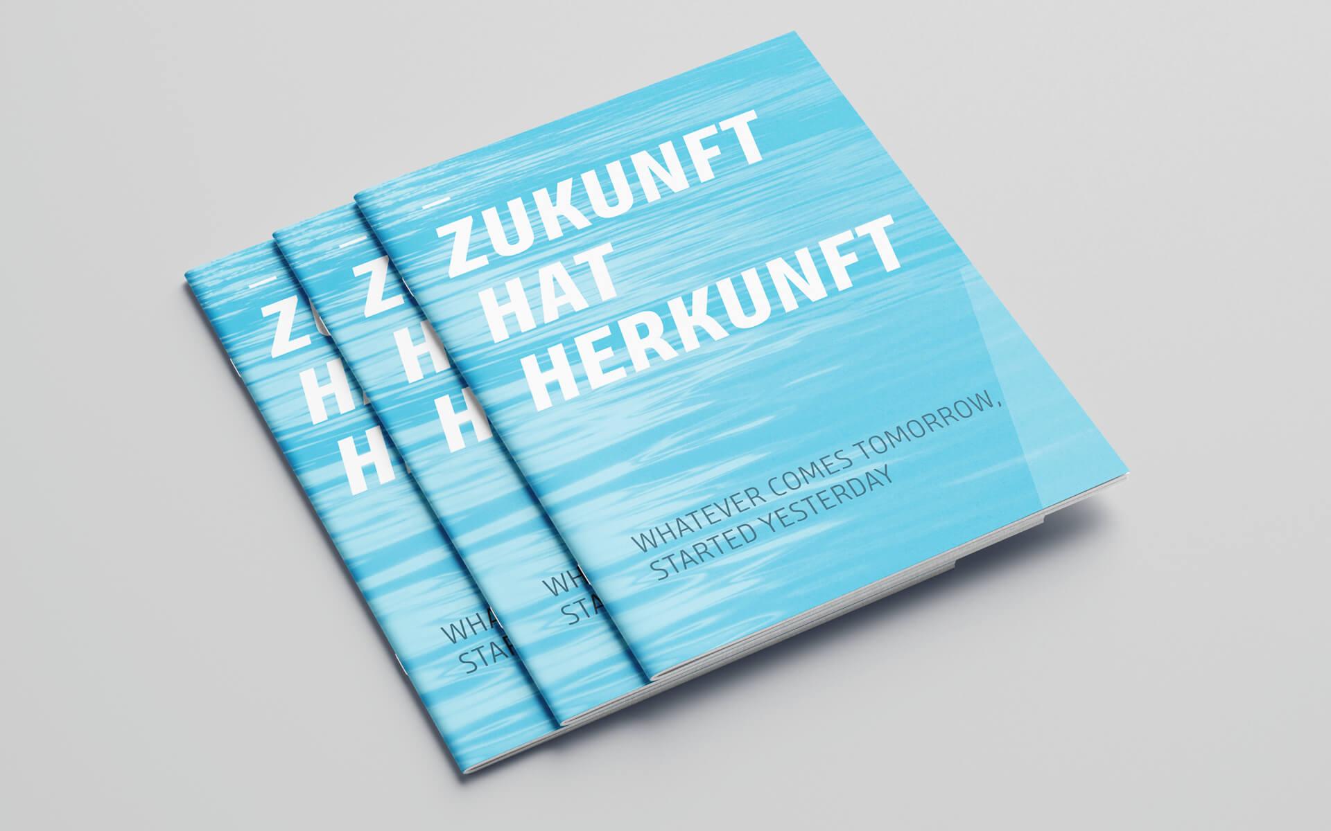Inform Corporate Design, Brochuredesign, Nachhaltigkeitsbericht, Titel
