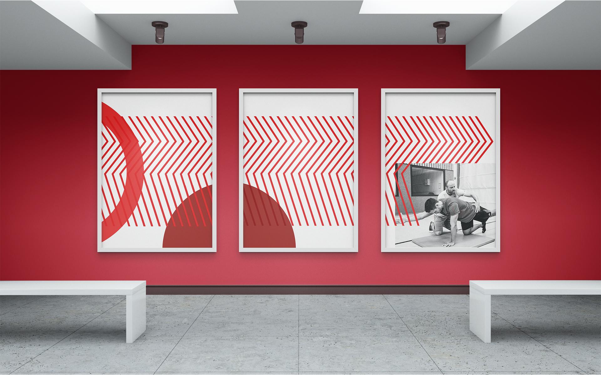 Trainerakademie Köln Corporate Design, Plakate
