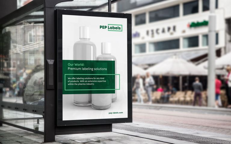 PEP Labels AG, Branding, Corporate Design, Corporate Communication
