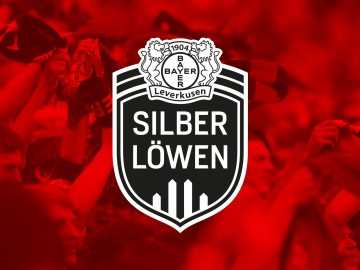 Bayer 04 Leverkusen, Corporate Design Silberlöwen, Produktmarke, Logotype