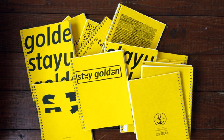 stay golden Skizzenbücher