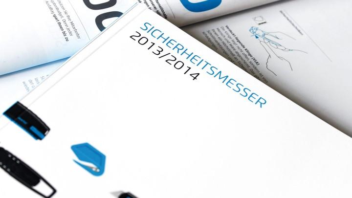 MARTOR Broschürenkonzept, Sicherheitsmesser Katalog, Titel