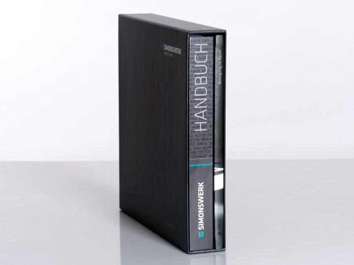 Simonswerk Kompendium 2012, Schuber und Handbuch