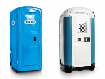TOI TOI & DIXI Corporate Design Relaunch, WC-Units