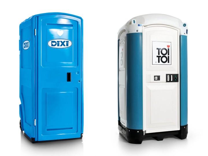 TOI TOI & DIXI Corporate Design Relaunch, WC-Units