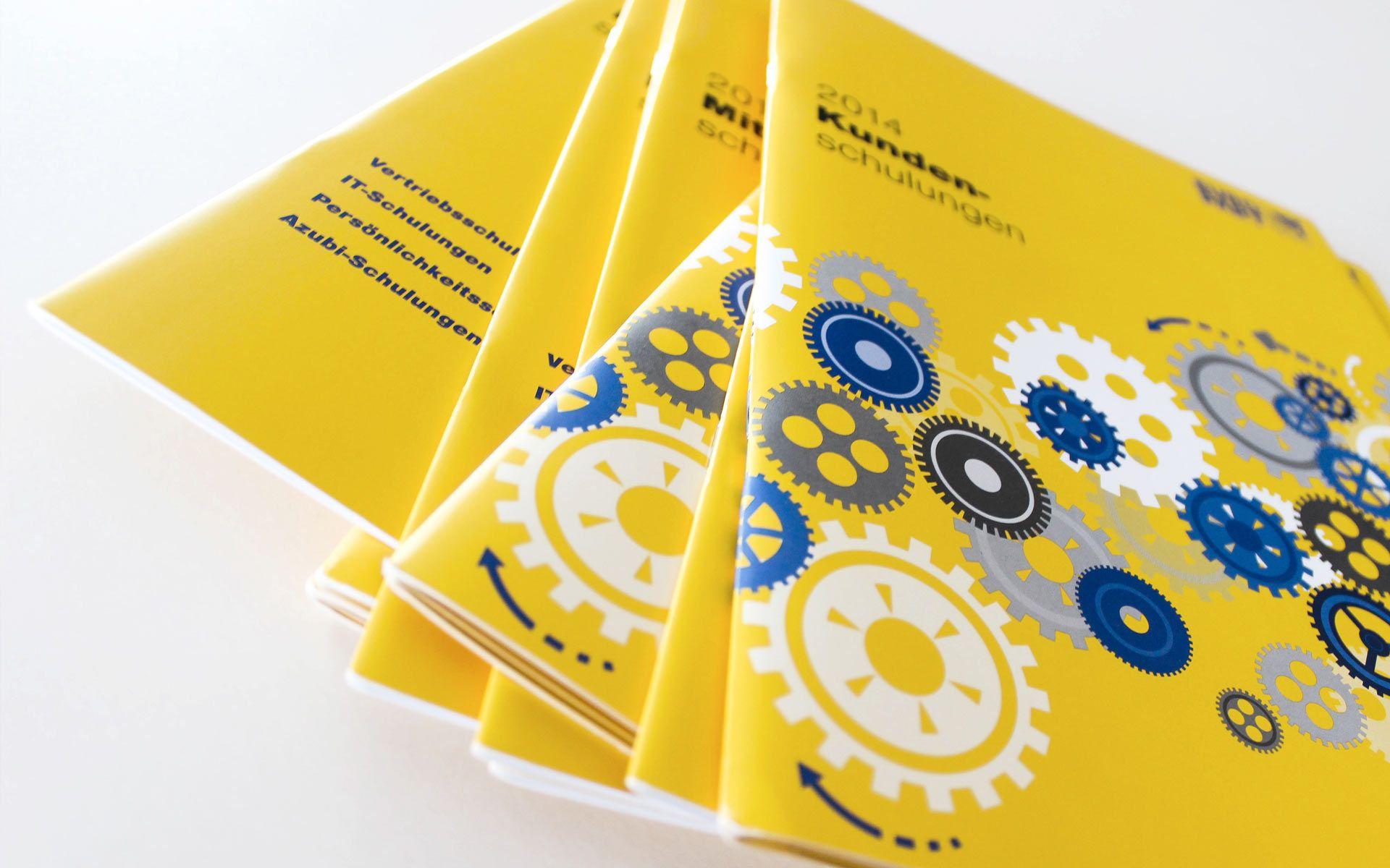 Broschürengestaltung: EUROPART Schulungshefte