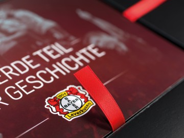 Bayer 04 Sponsoren Akquisition, Emblem Bayer 04