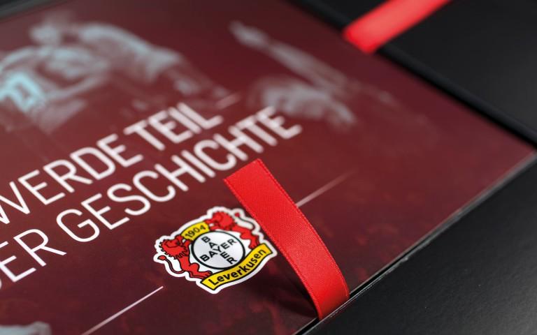 Bayer 04 Sponsoren Akquisition, Emblem Bayer 04