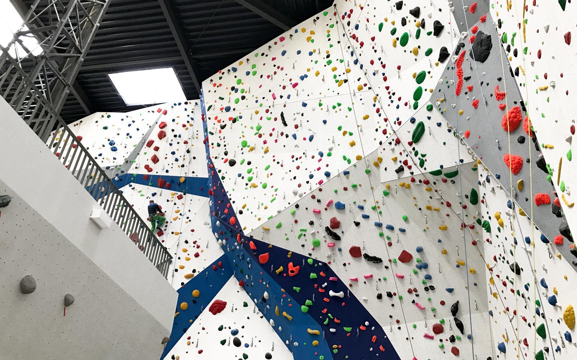 Bergstation Pre-Opening, Kletter-und Boulderhalle Hilden, Freeclimbing