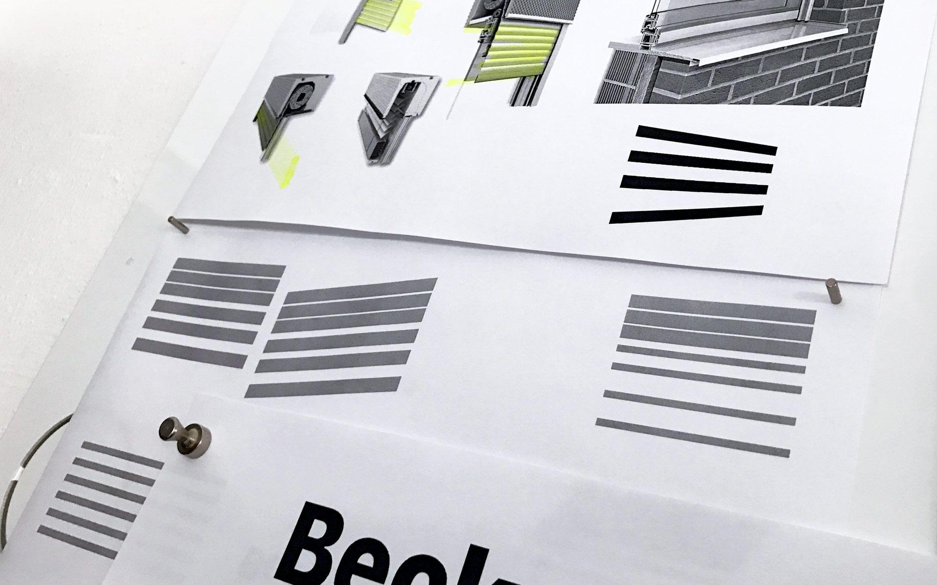Corporate Design für Beck+Heun, Rolladenkasten , stay golden GmbH
