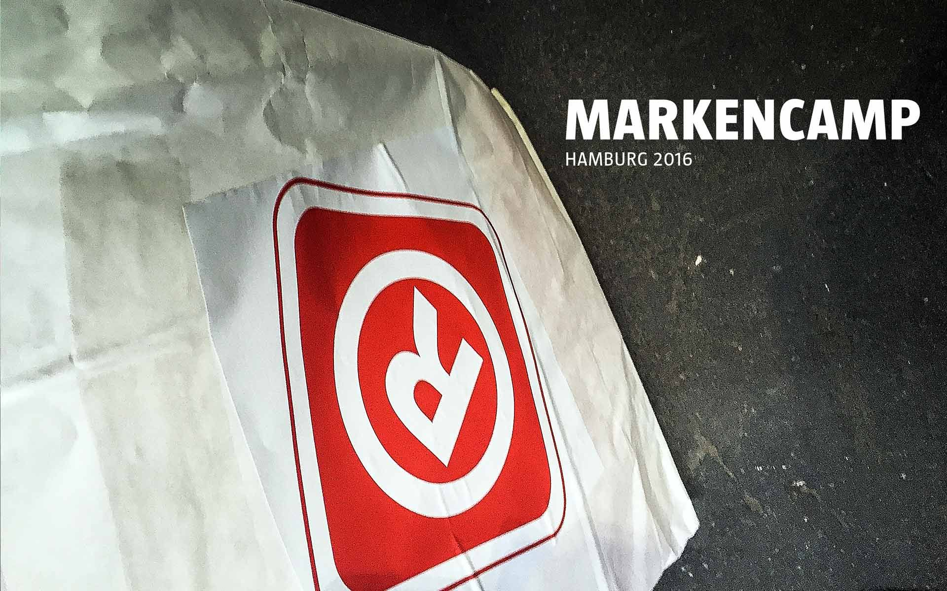 stay golden auf dem Markencamp 2016 in Hamburg